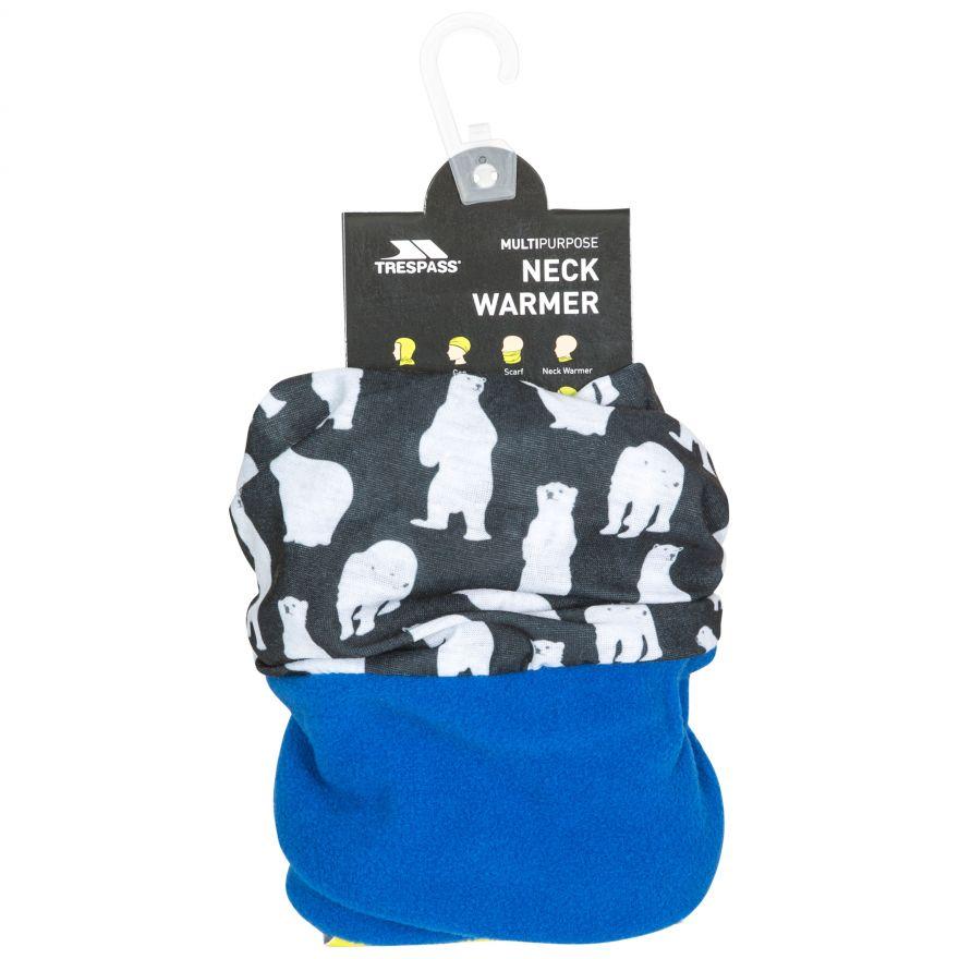 TP759 Trespass Childrens Girls Rescue Fleece Neckwarmer