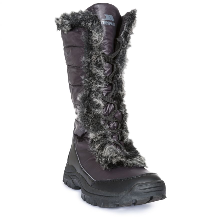 Fleece Lined Waterproof Snow Boots