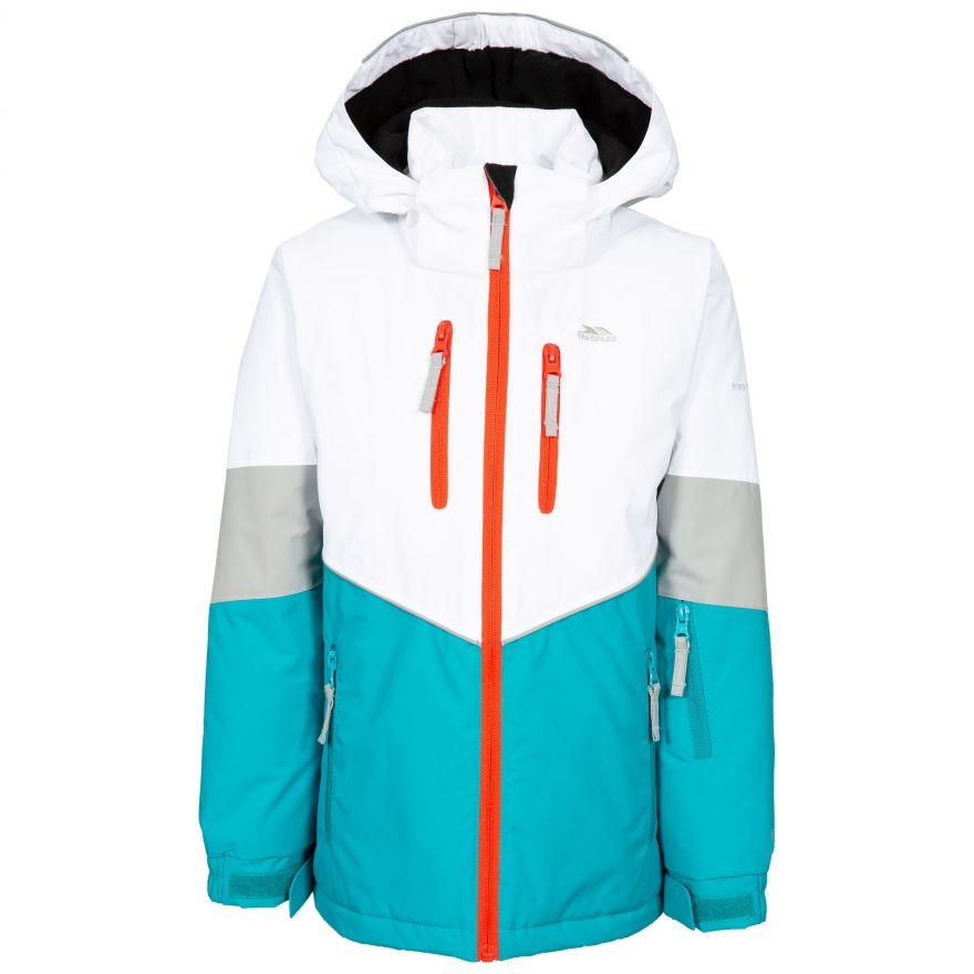Trespass Olivvia Warm Waterproof Windproof And Breathable Veste de ski Mixte enfant