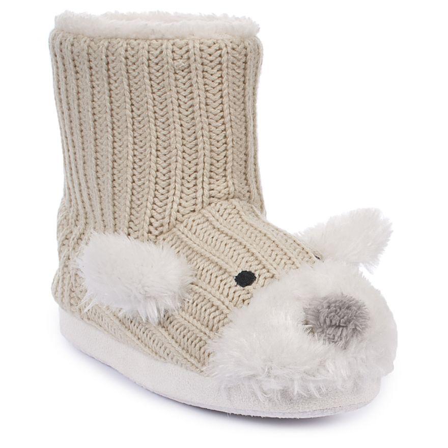 Sootie Girls Slipper Boots | Trespass