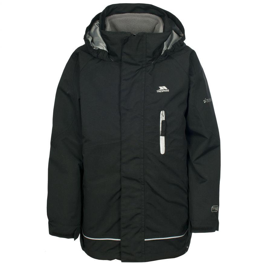 Kids Trespass Unisex Waterproof 3 in 1 Jacket with Fleece Prime II