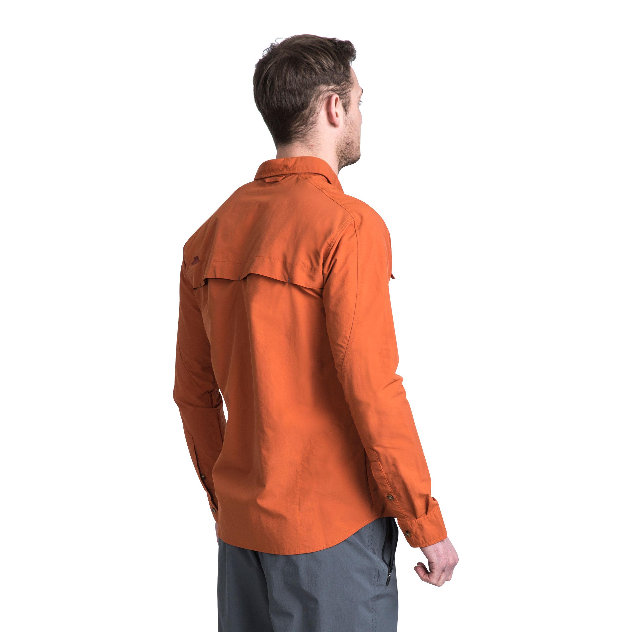 Trespass-Darnet-Camisa-Para-Hombre-Repelente-de-Mosquitos-Pesca-Camping-Jersey-de-manga-larga miniatura 14