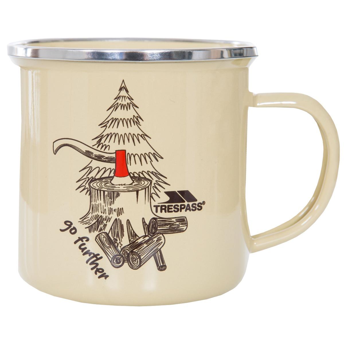 Trespass Elma Enamel Camping Mug