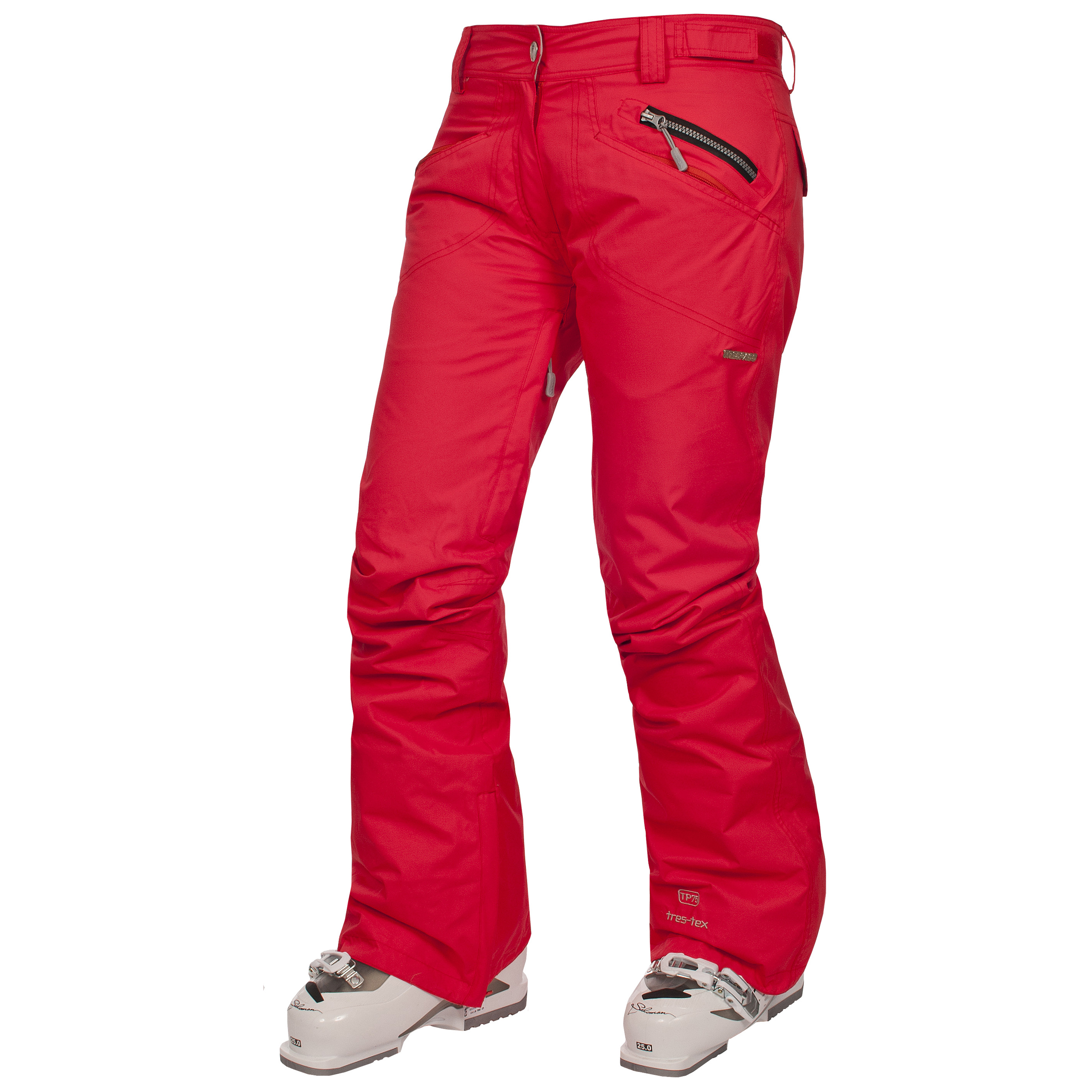 Ski pants and bibs are a must have for any winter getaway. Just because you're out in the snow doesn't mean you have to sacrifice comfort. Choose women's snow pants and bibs lined with rich, soft fabric-like fleece or synthetic insulators.