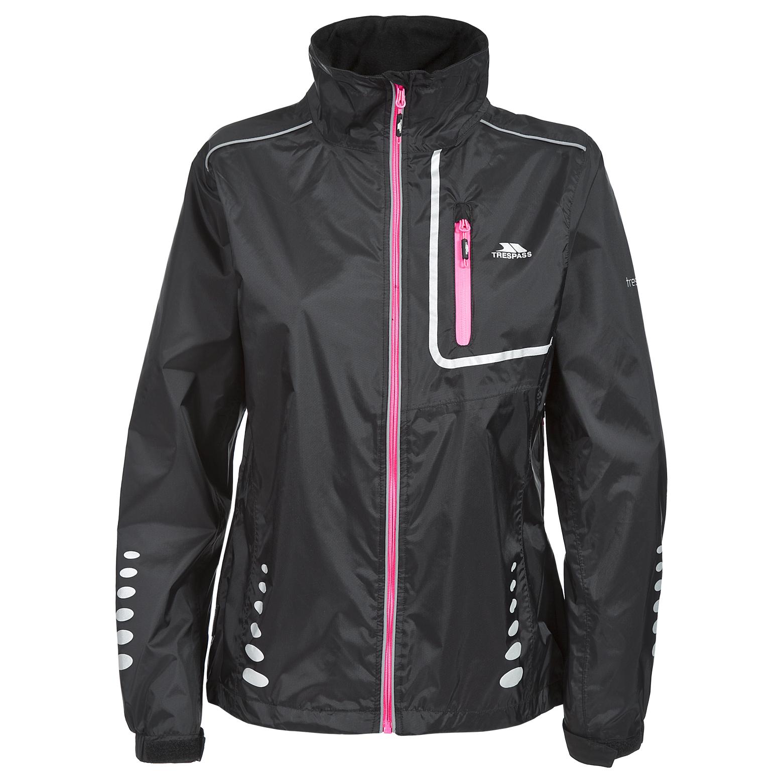 Trespass Fairing Womens Waterproof Cycling Jacket Lightweight ...