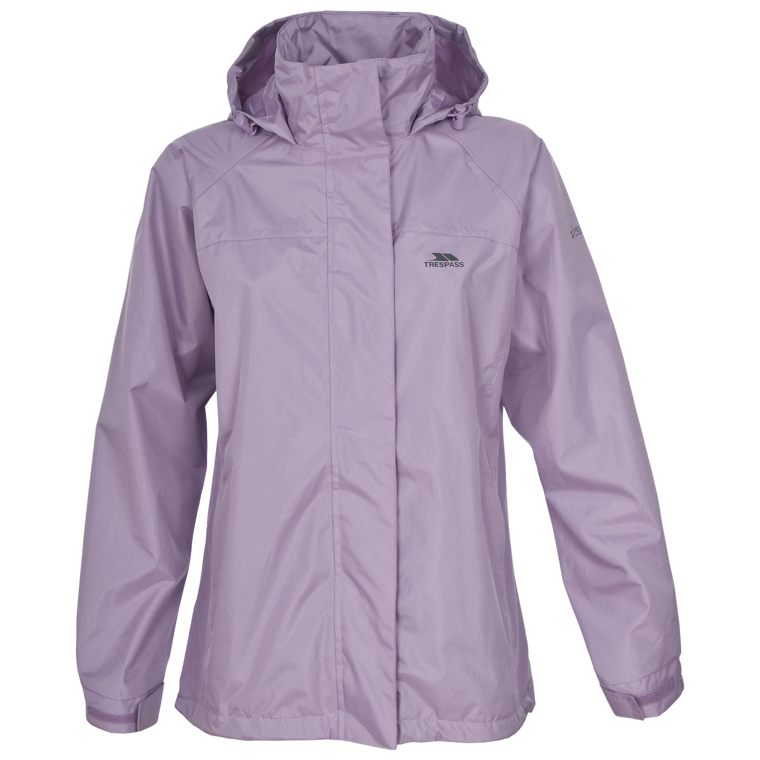 Trespass Nasu Womens Windproof Waterproof Jacket Ladies ...