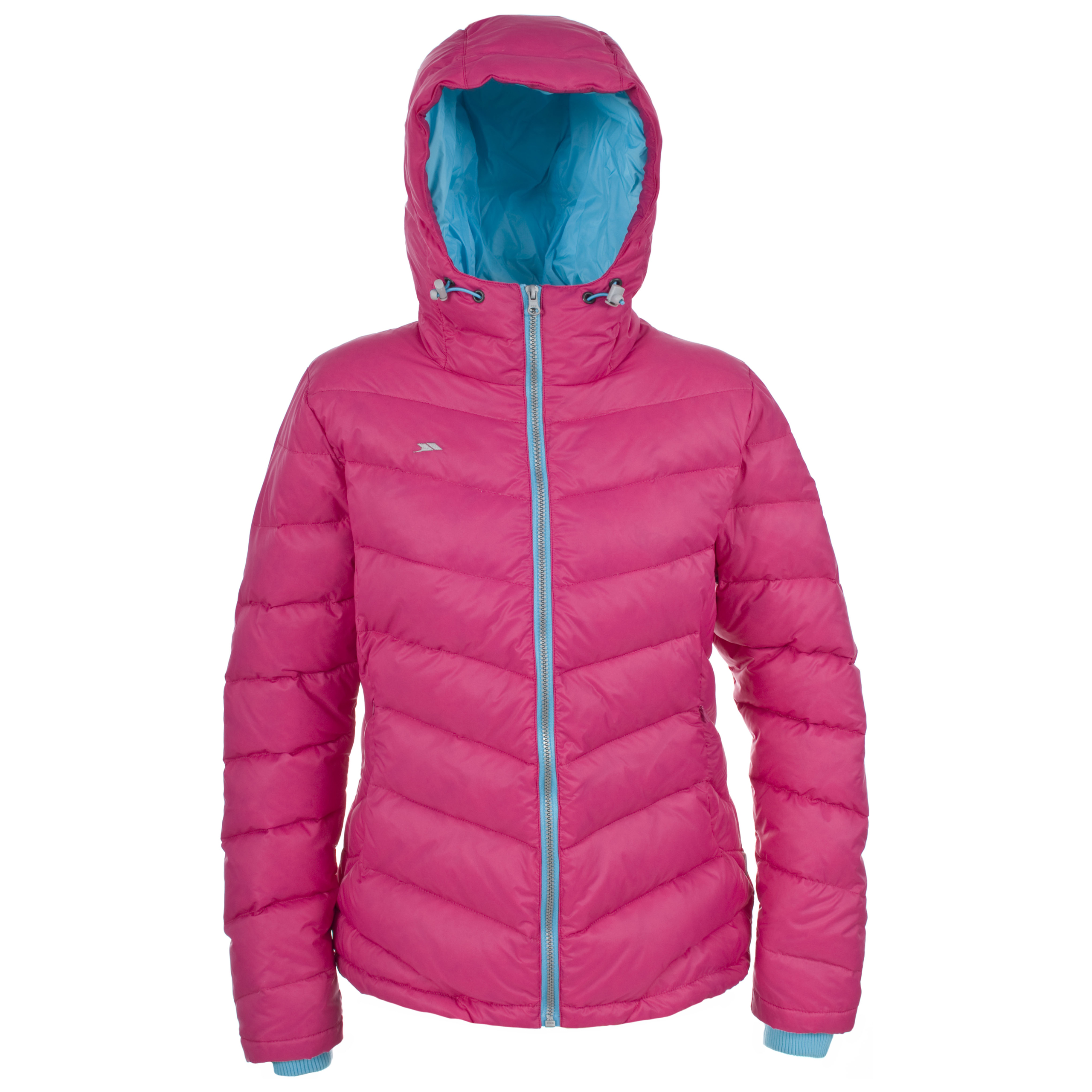 Trespass Amzie Womens Warm Winter Down Coat Ladies Hooded ...