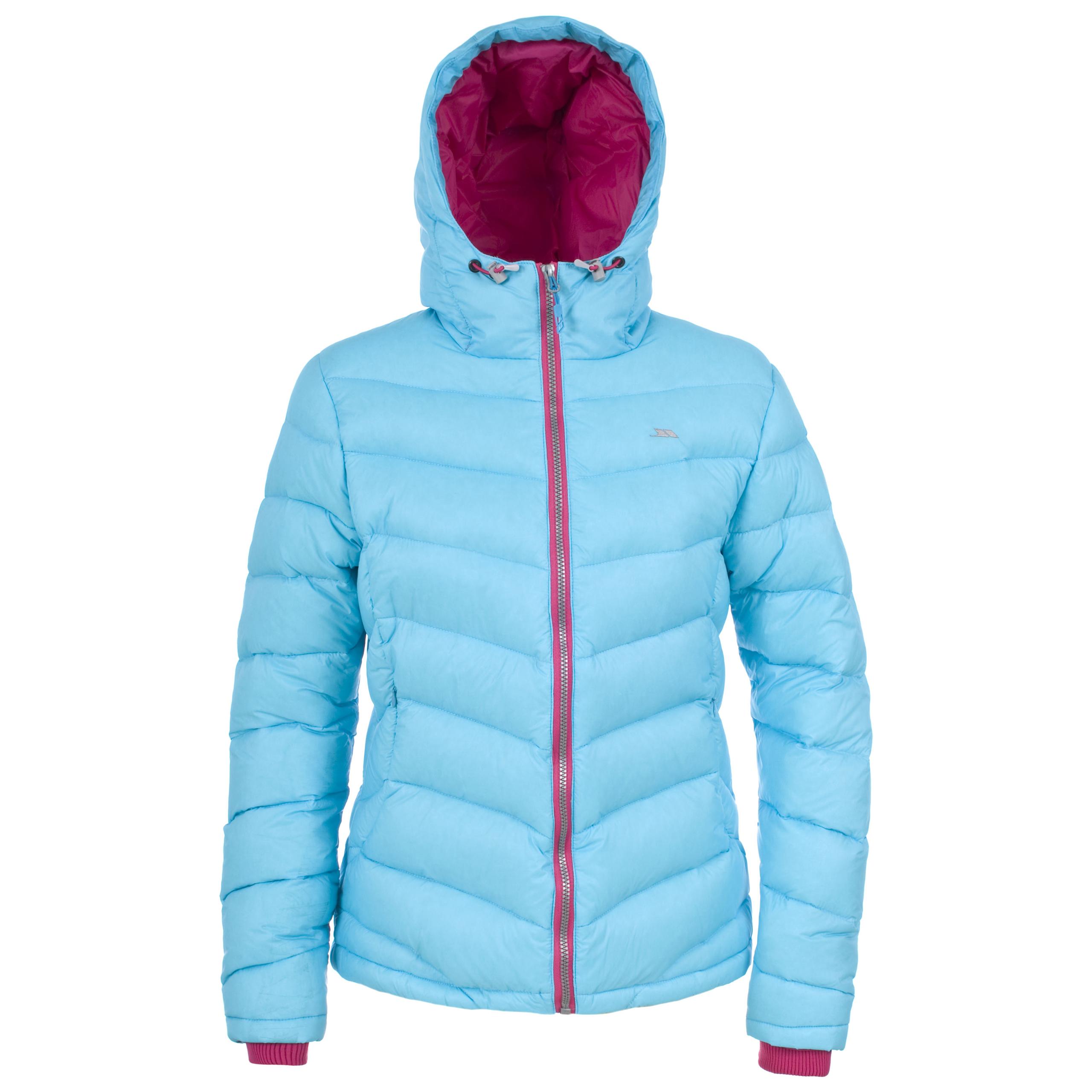 Trespass AMZIE Womens Ladies Warm Winter Down Coat Hooded Jacket