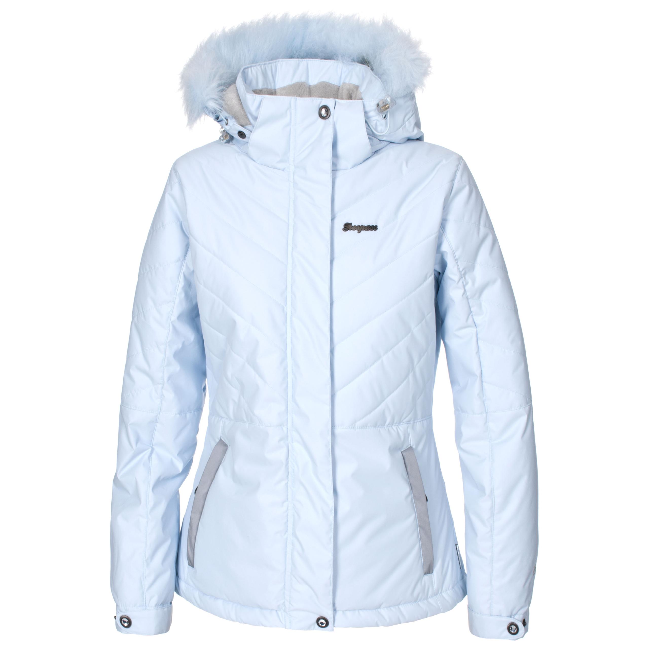 Womens ski jacket with fur hood