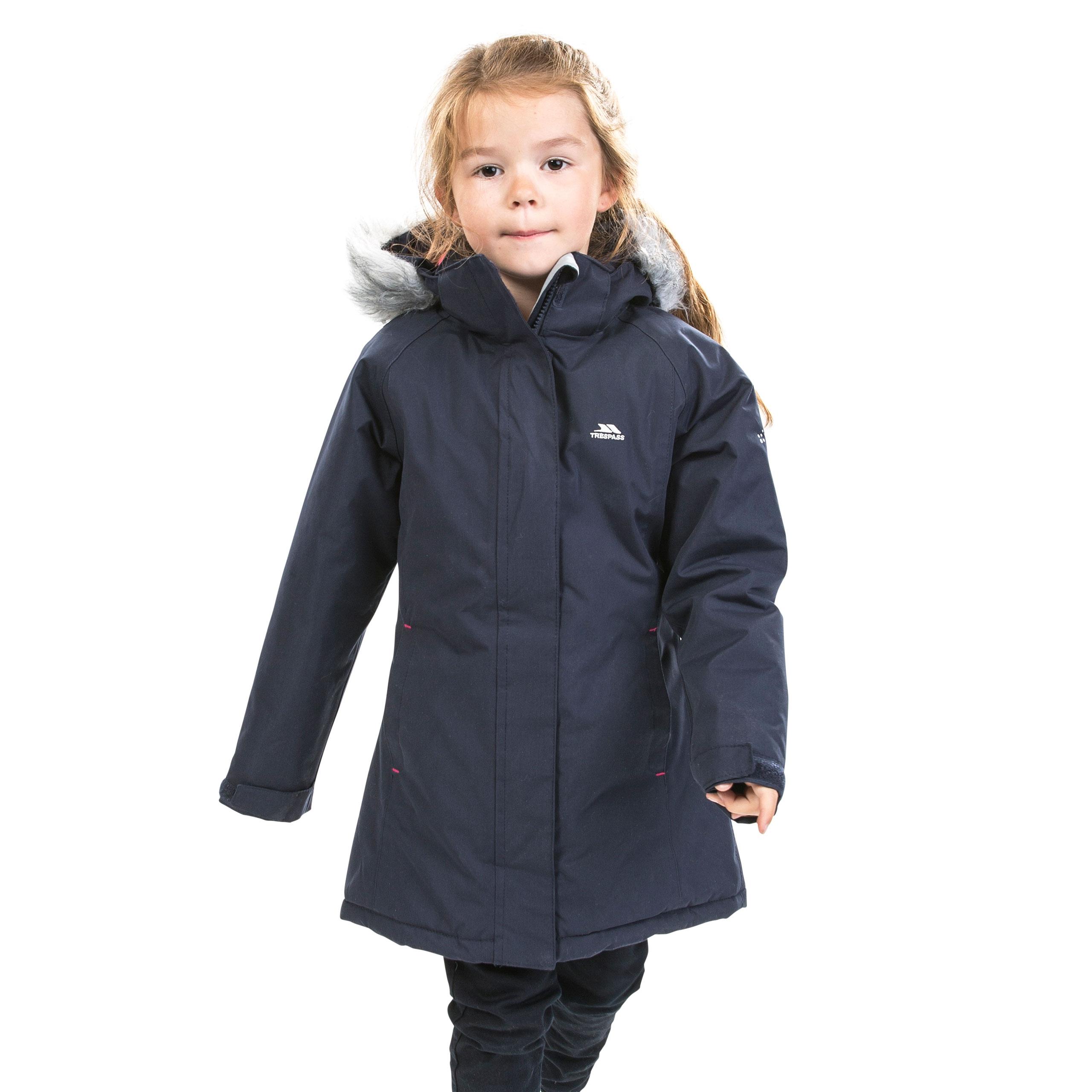 1f4211f09 Fame Girls Waterproof Jacket | Trespass UK