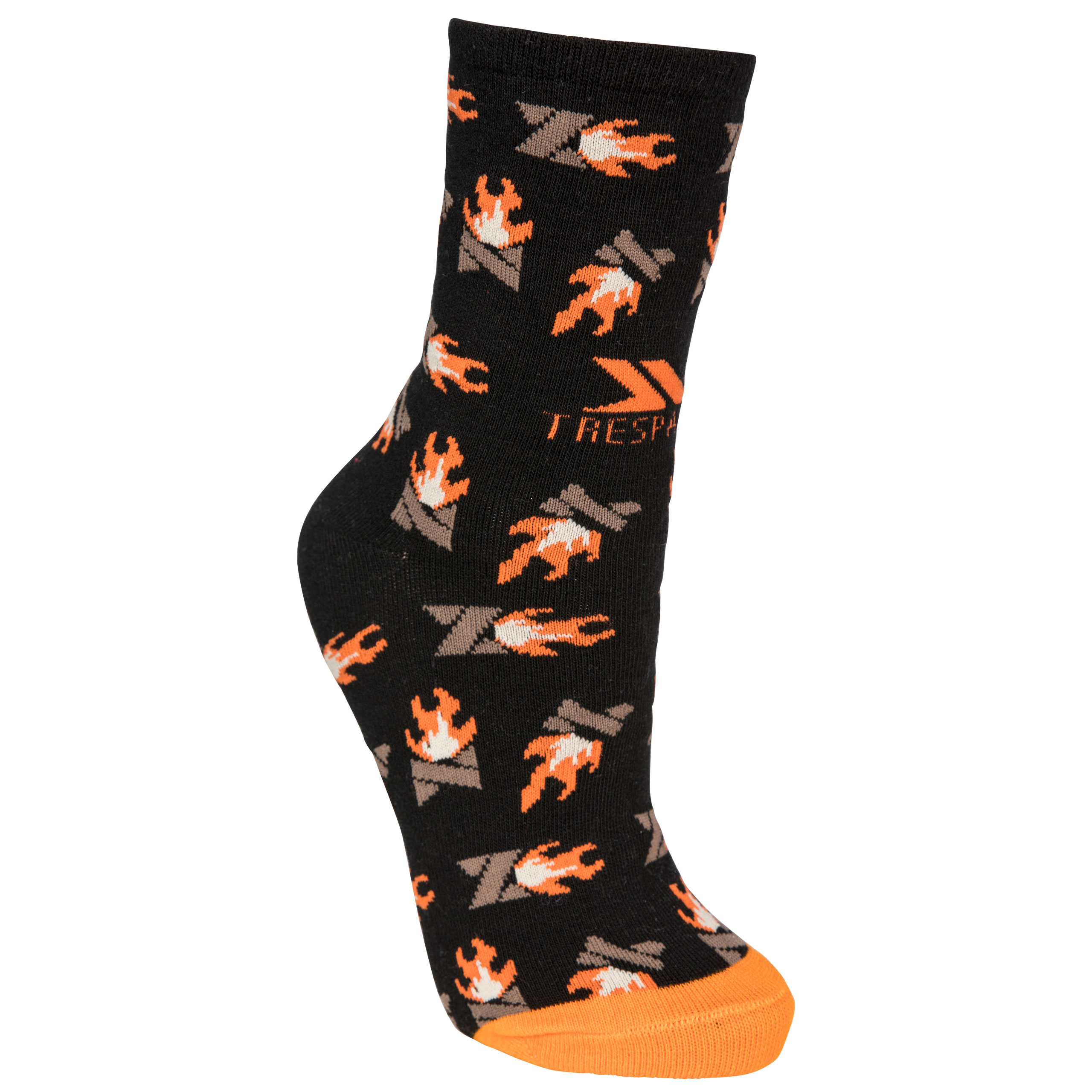Flame Adults Casual Printed Socks