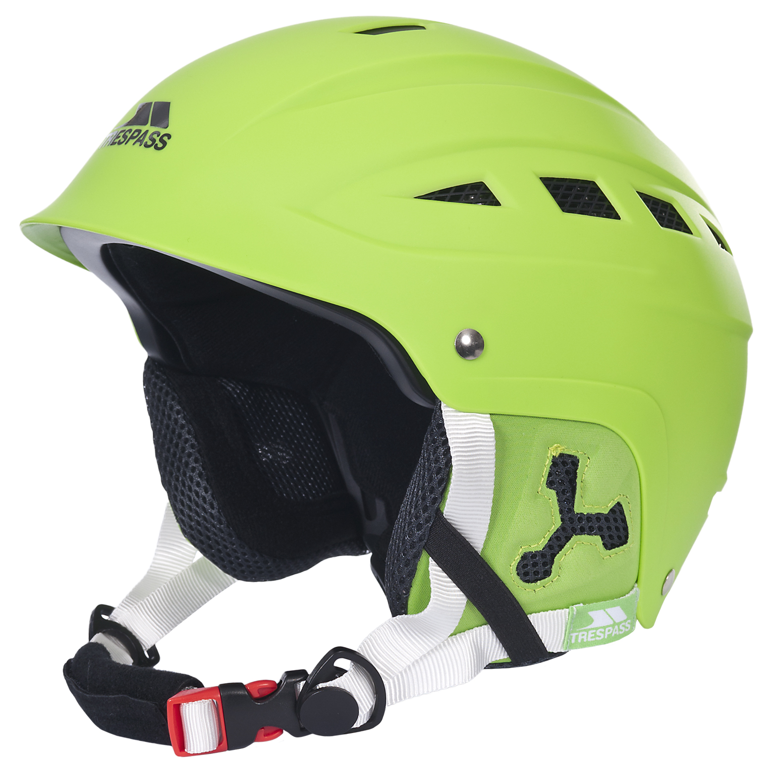Furillo Adults Lime Green Ski Helmet