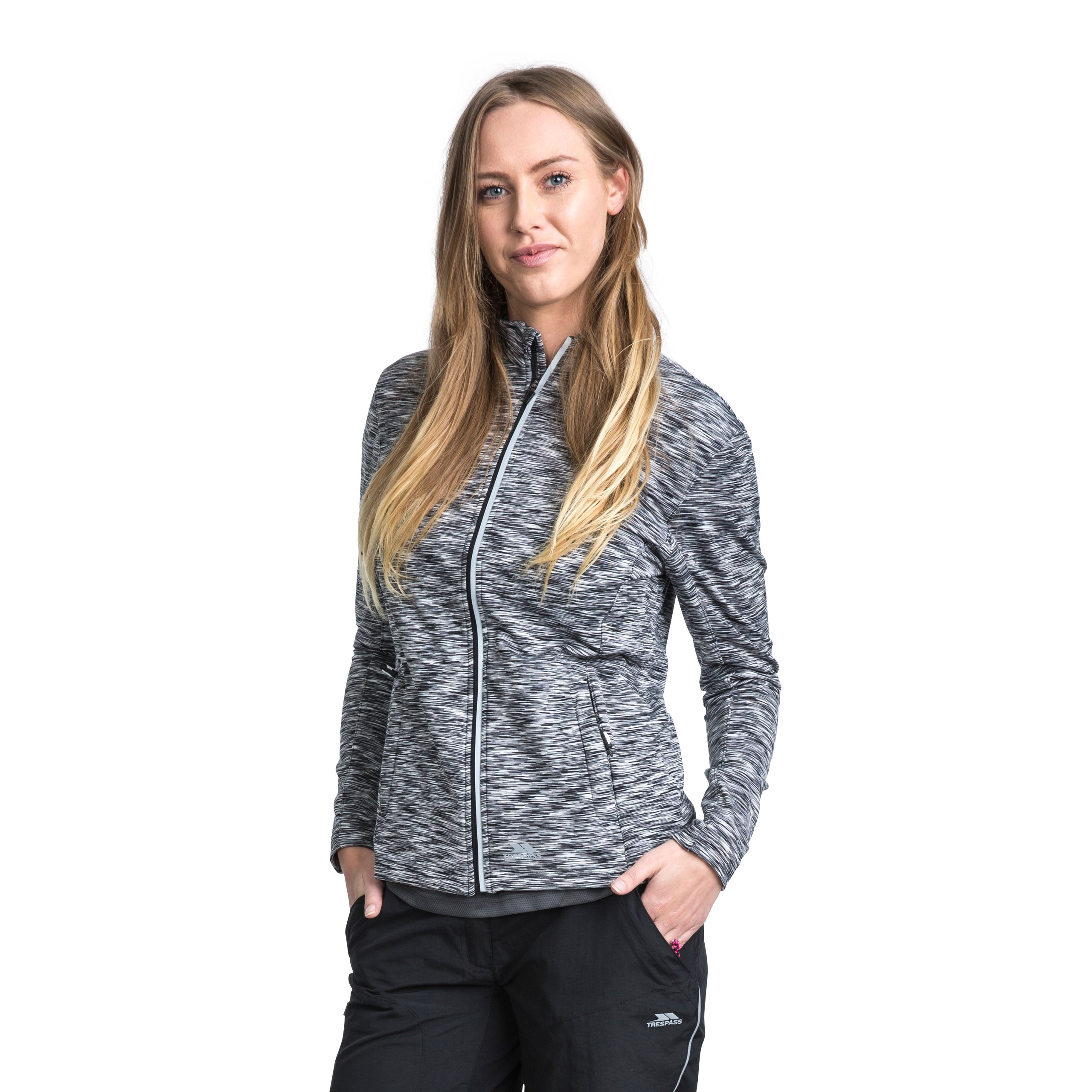 Indira Womens Long Sleeve Active Jacket