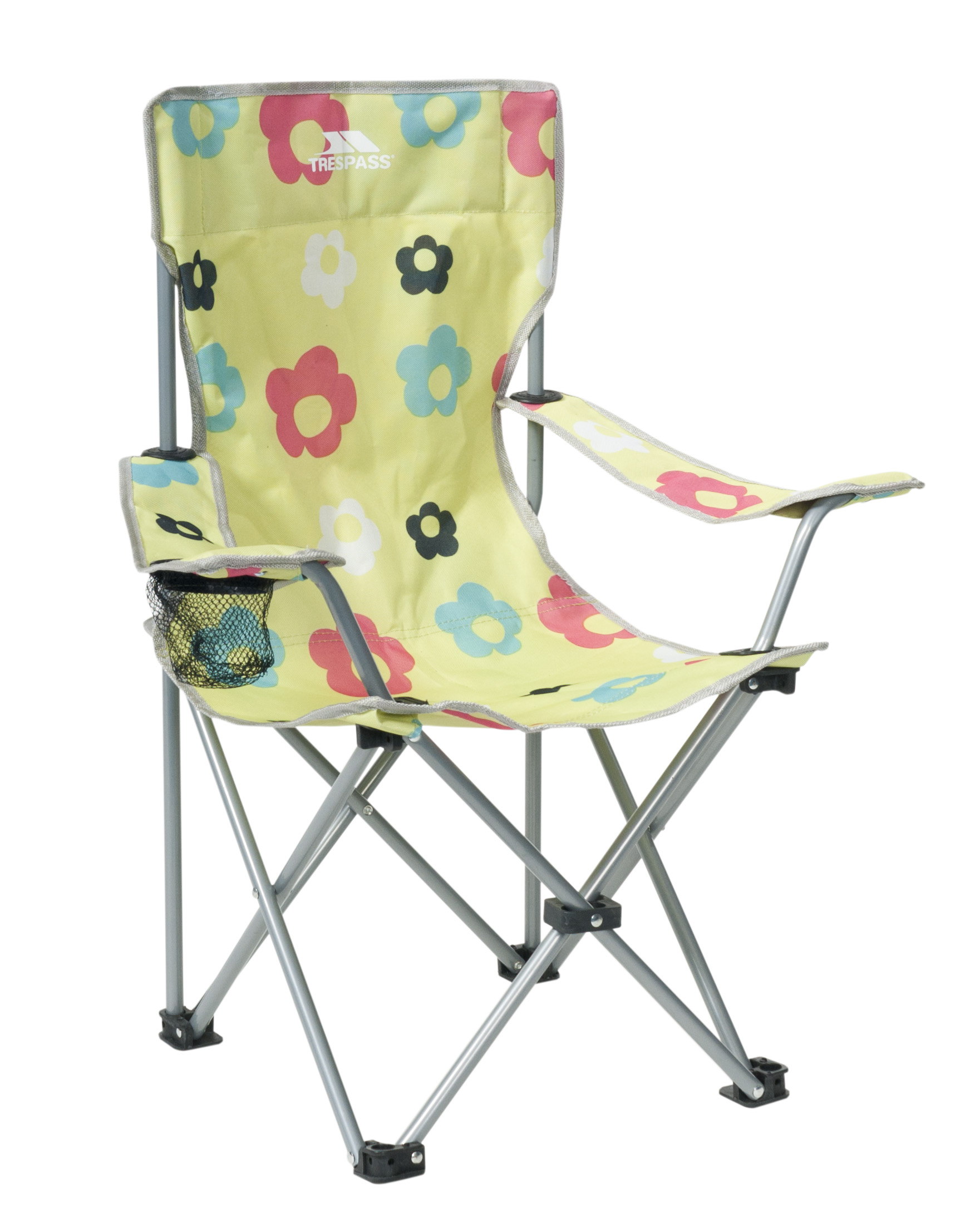 Trespass Joejoe Kids Folding Garden Camping Chair with Carrybag