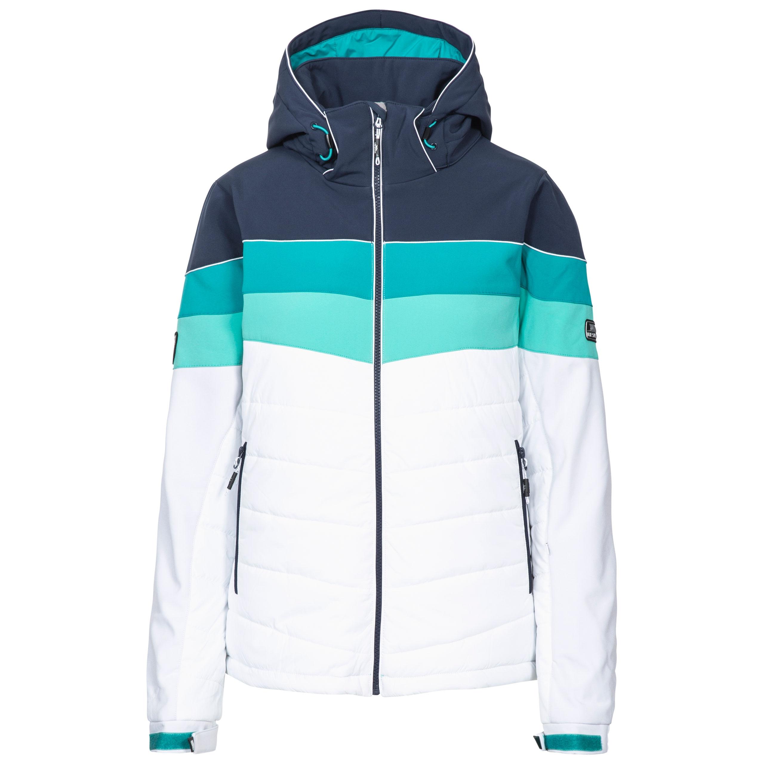 d68747c5a8 Trespass Kinsale Women Ski Jacket Padded   Windproof in Black ...
