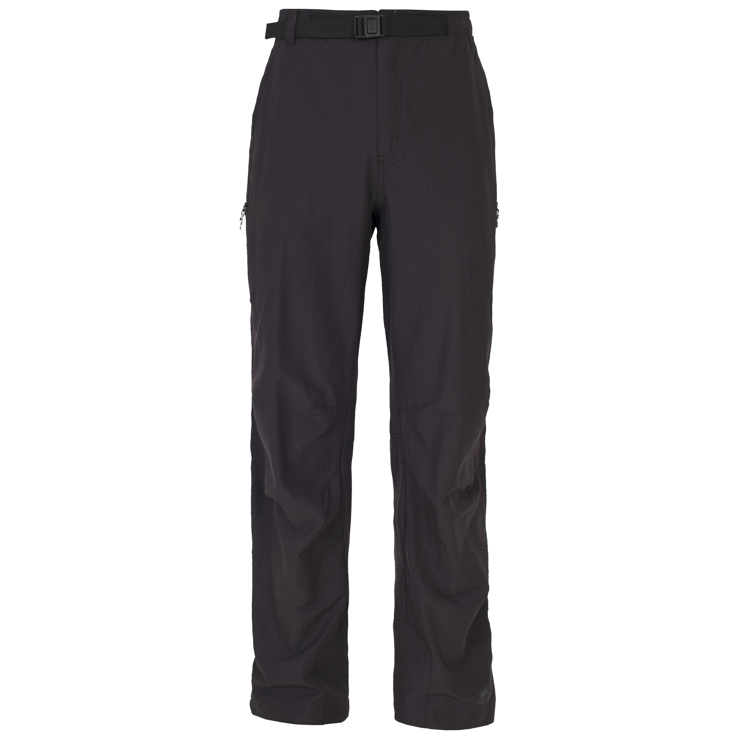 c77db039a7 Trespass Federation Mens Active Trousers Quick Dry Black Walking ...