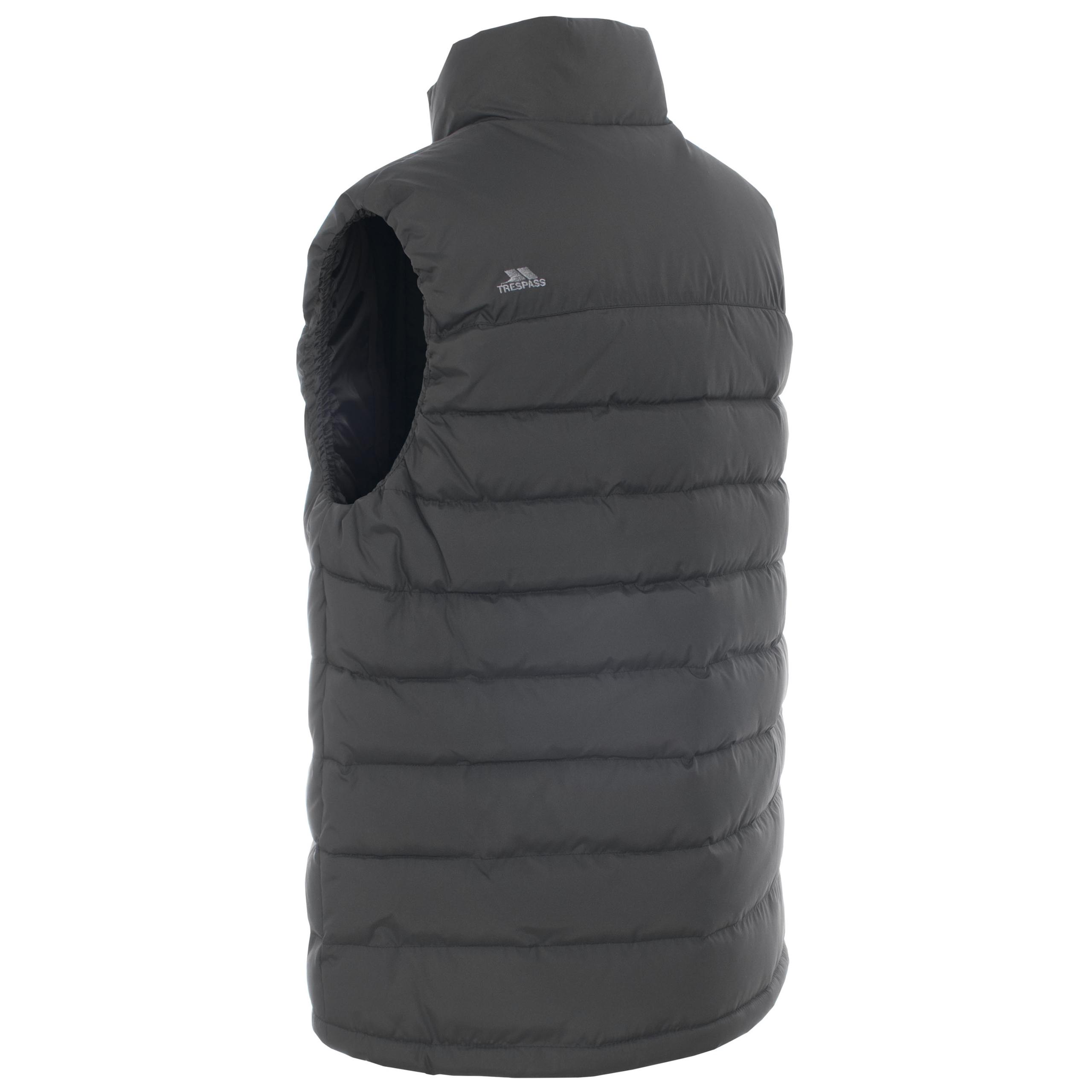 trespass hollow mens padded body warmer sleeveless jacket. Black Bedroom Furniture Sets. Home Design Ideas