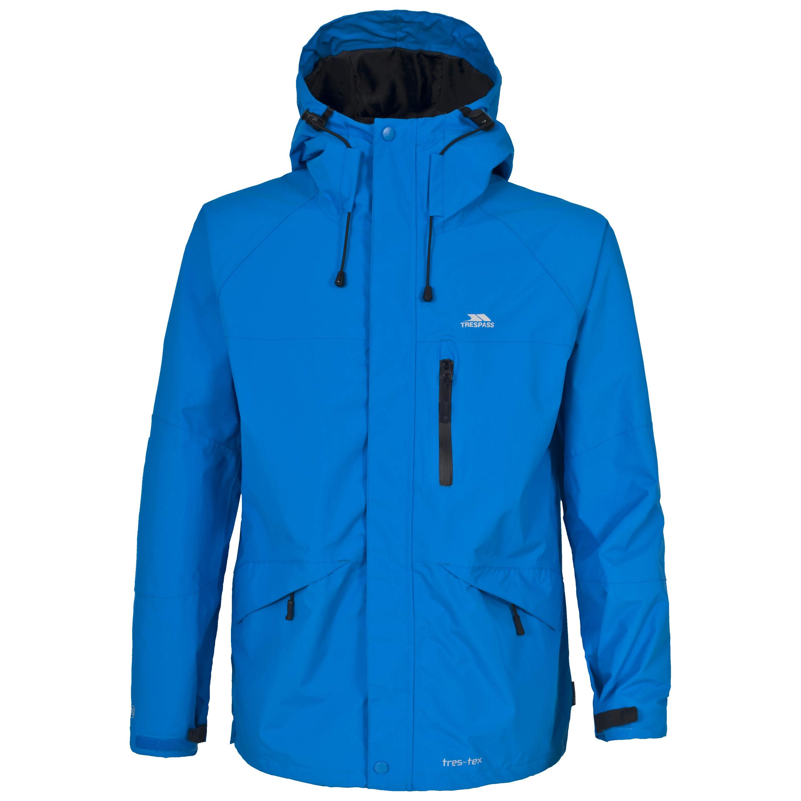 Trespass-Corvo-Homme-Veste-Impermeable-Coupe-vent-casual-impermeable-avec-capuche