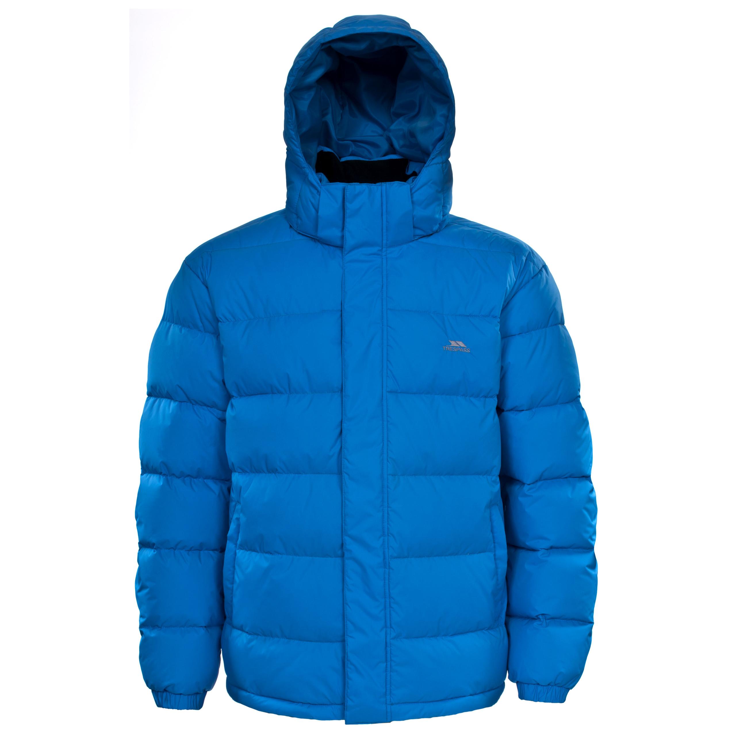 Trespass SYRUS Hooded Winter Down Coat Waterproof Jacket