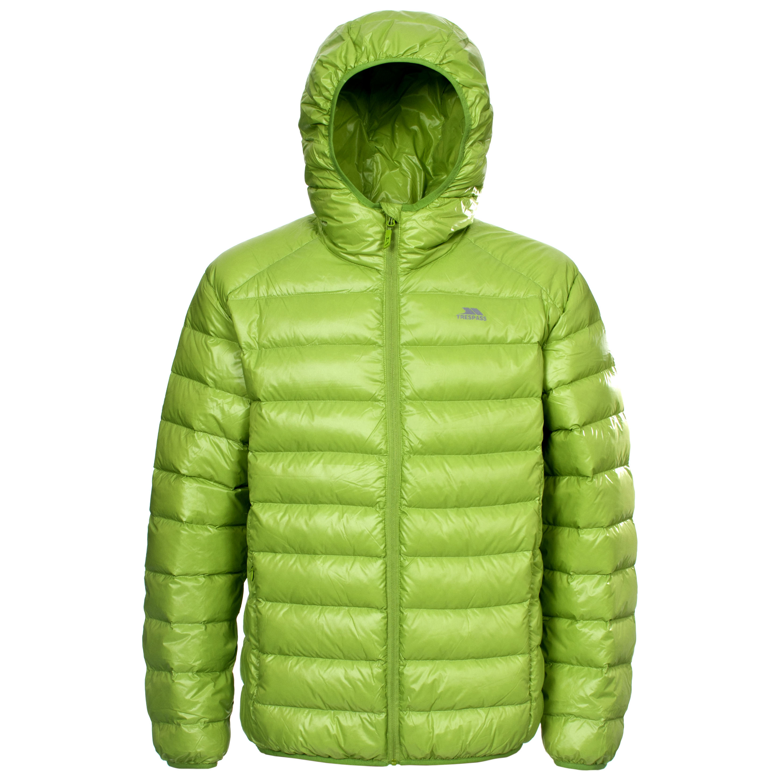 Trespass Ramirez Mens Hooded Winter Down Jacket Lightweight Warm ...