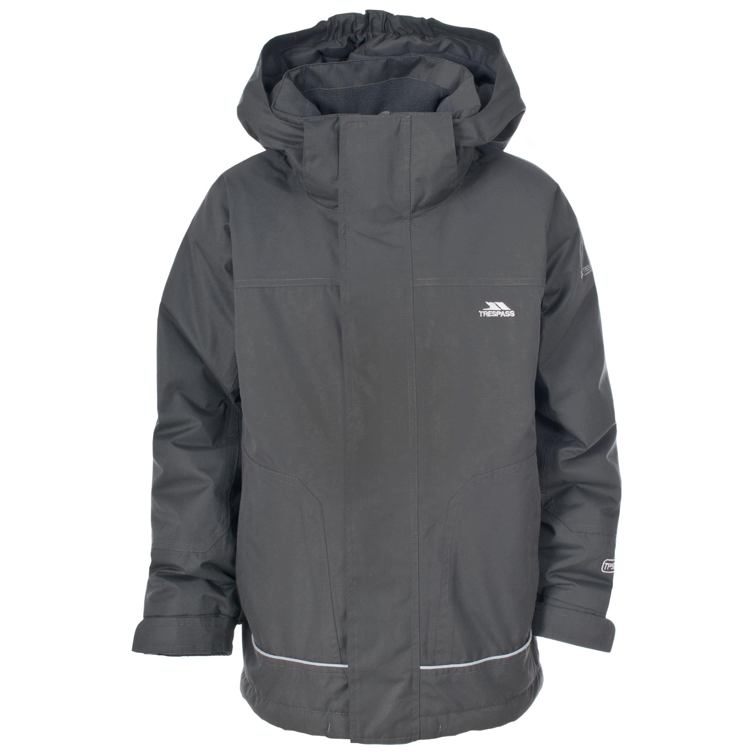 Trespass Cornell Kids Waterproof Winter Jacket Windproof ...