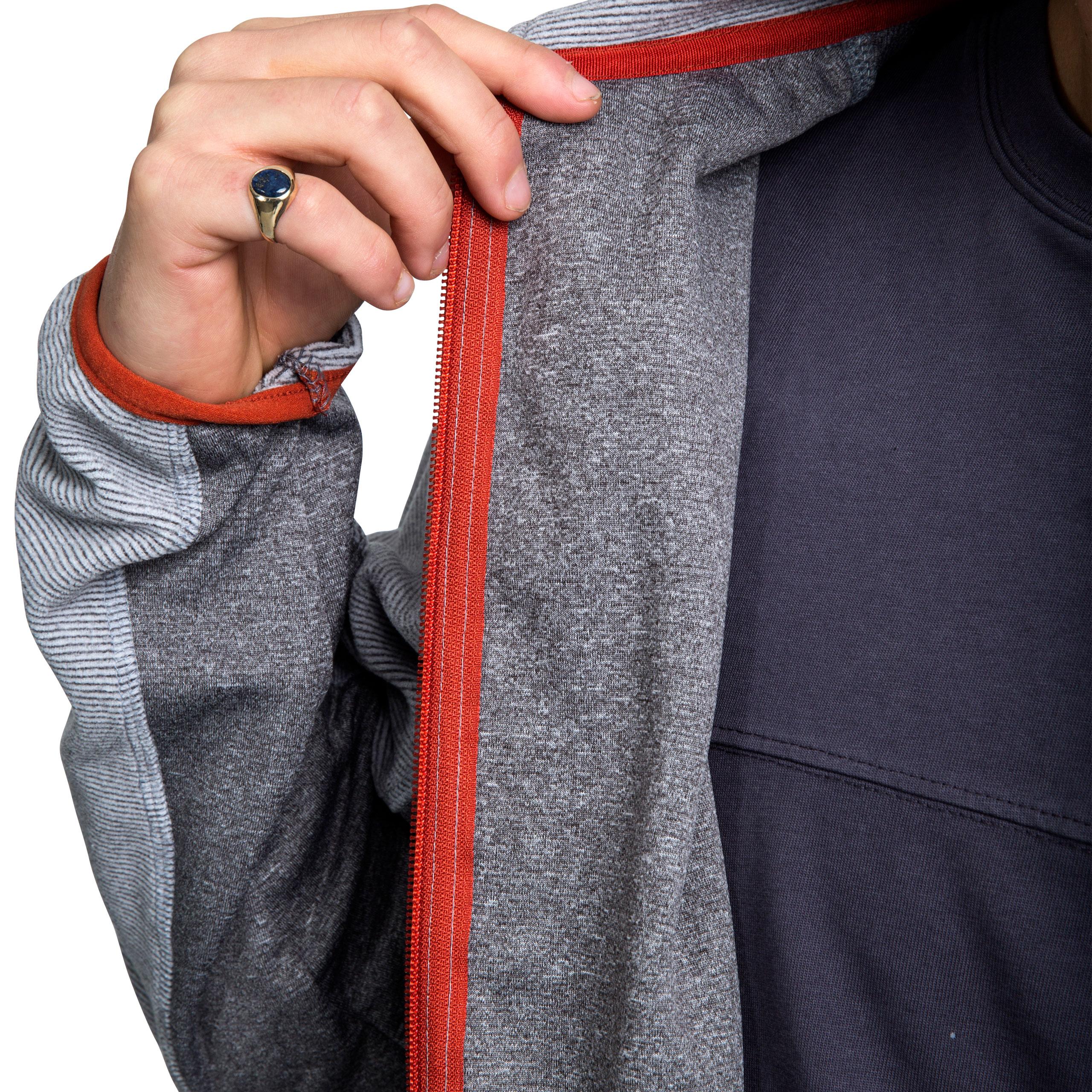 Trespass-Mirth-Mens-Textured-Fleece-Jacket-Full-Front-Hiking-Jumper-with-Pockets thumbnail 14