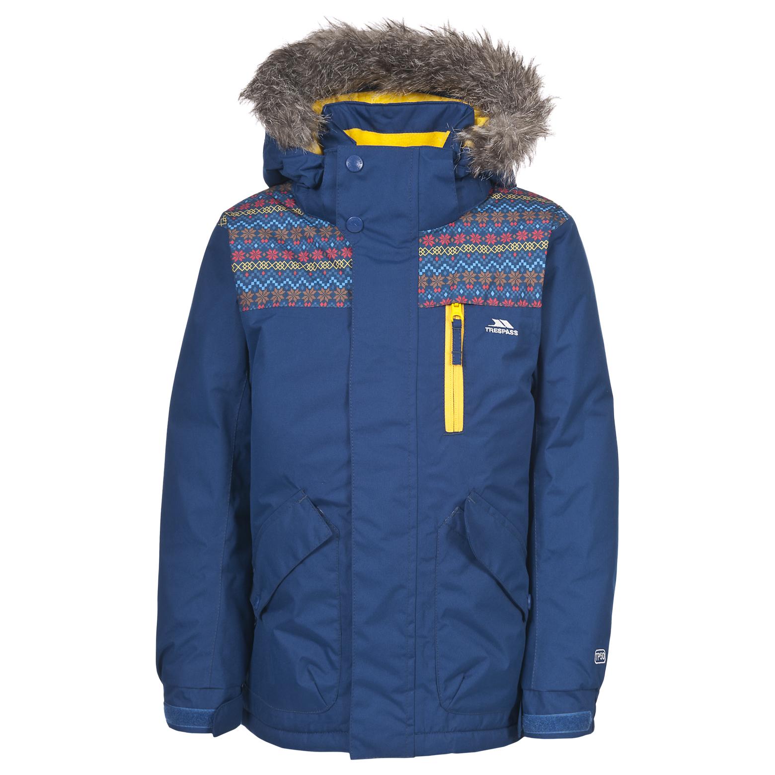 trespass porter kids boys waterproof padded winter snow ski coat #0: porter mcjkskj twi a copy