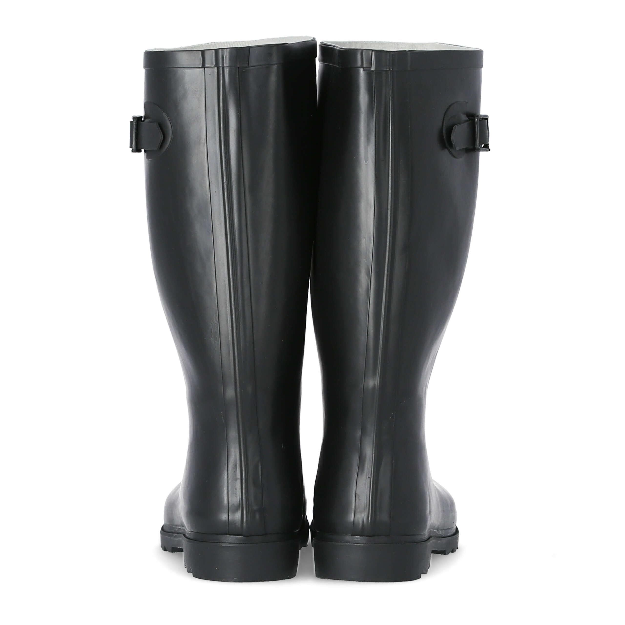 Détails sur TRESPASS Recon X Homme Imperméable Bottes Vert En Caoutchouc Noir Wellington Boots afficher le titre d'origine