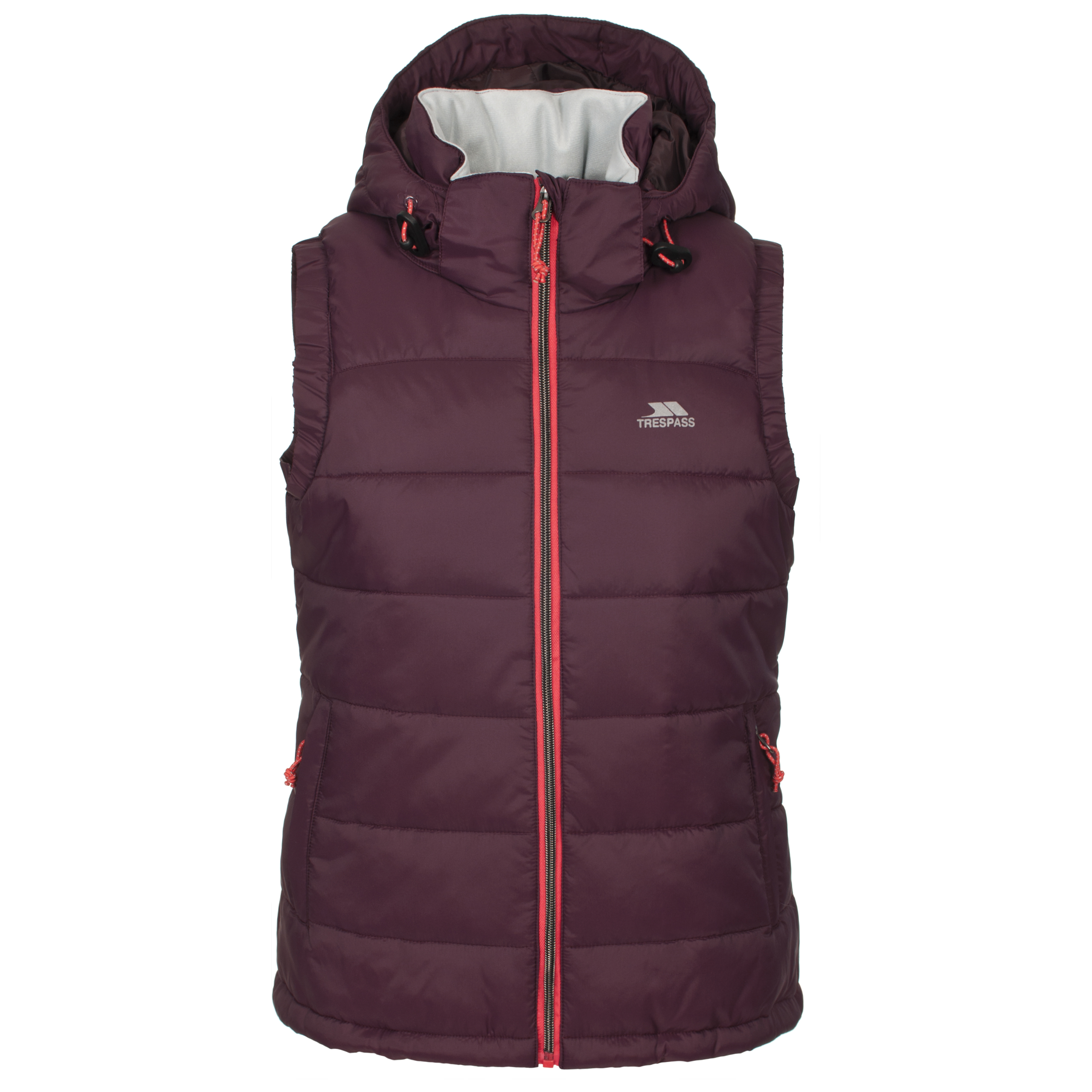 This ladies lightweight padded gilet is fully-lined, featuring functional pockets and a zip fastening. Stylish and practical, this web exclusive gilet is perfect for layering, wear over a long-sleeve top or jumper for a smart-casual look.