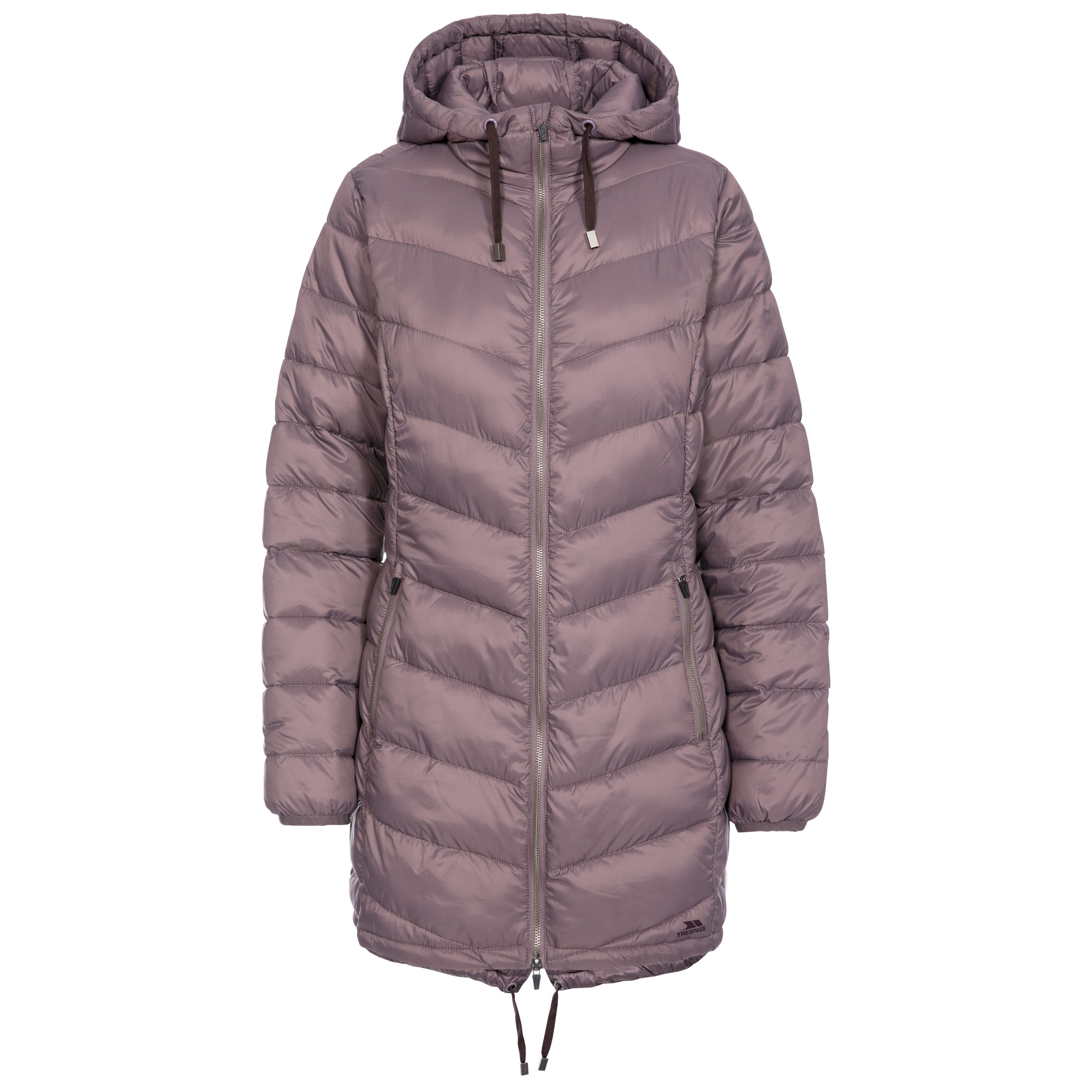 Trespass-Rianna-Womens-Padded-Jacket-Puffer-Coat-With-Hood-For-Ladies thumbnail 17