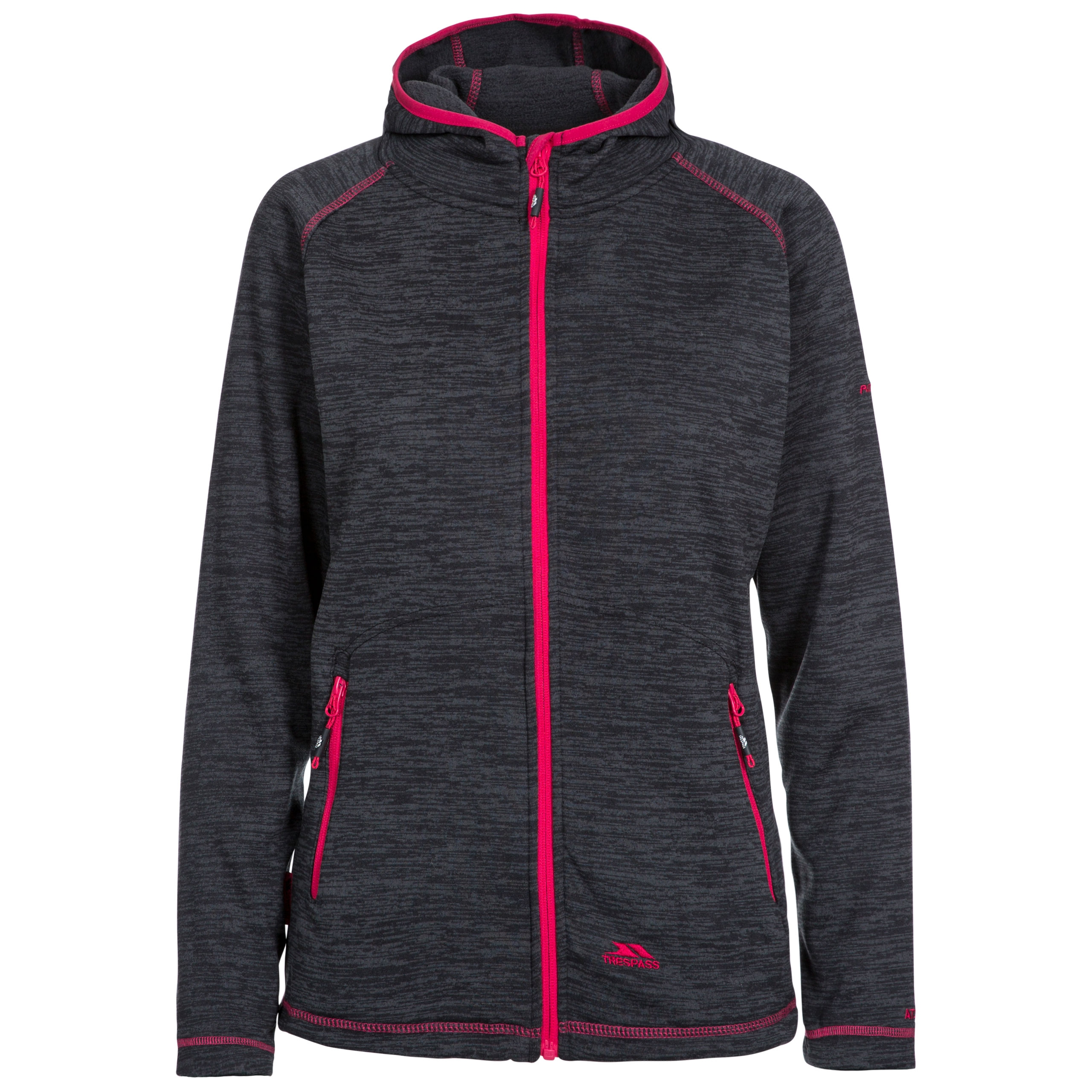 Riverstone Womens Full Zip Fleece Hoodie