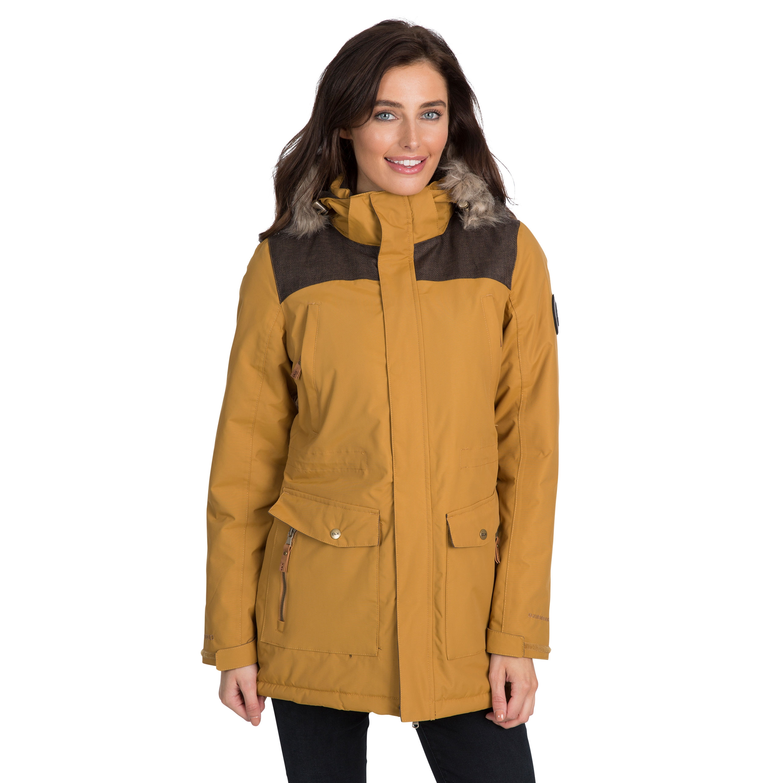 Rosario Womens Dlx Waterproof Parka Jacket
