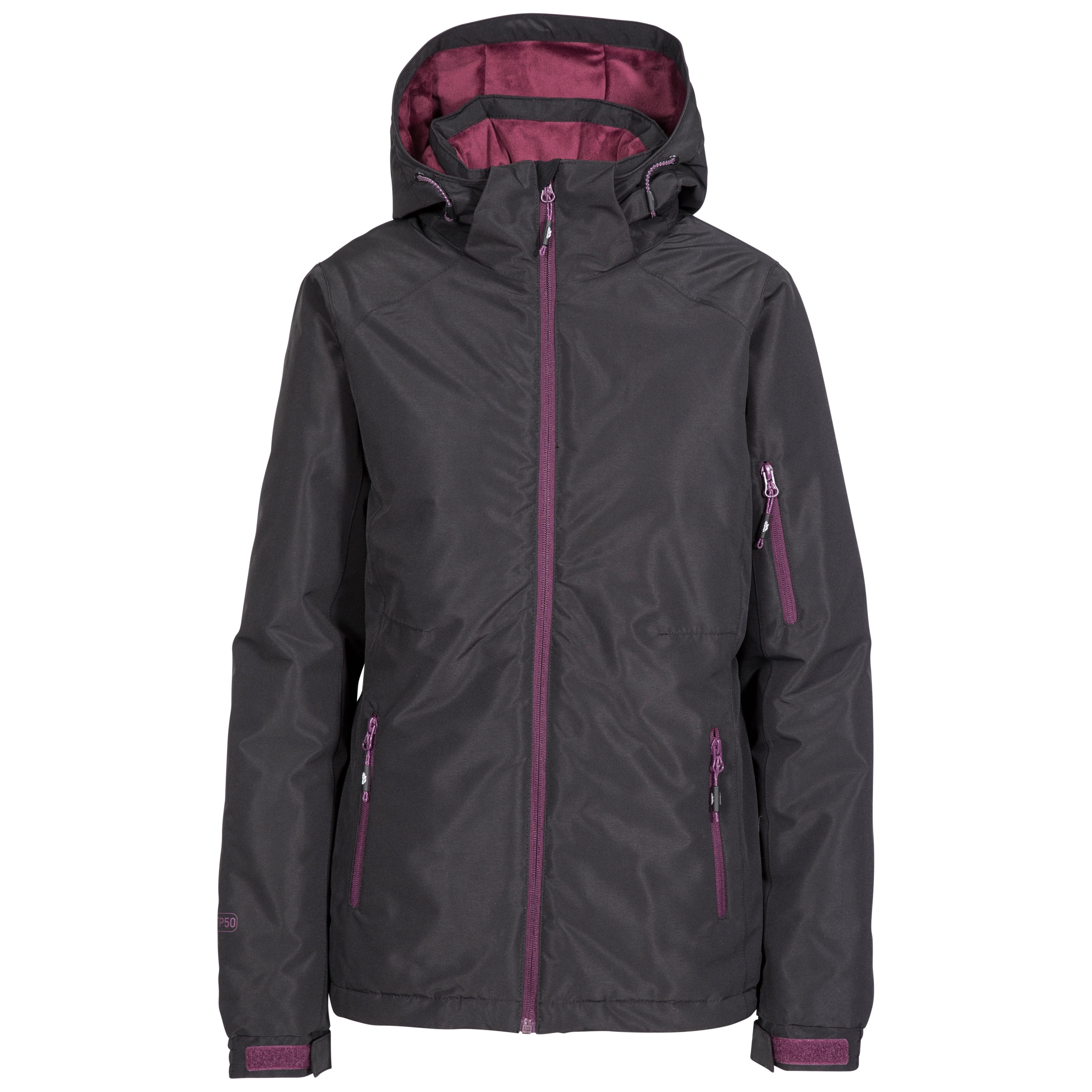 8cba7d44ab Details about Trespass Sheelin Women`s Insulated Ski Jacket Waterproof    Padded