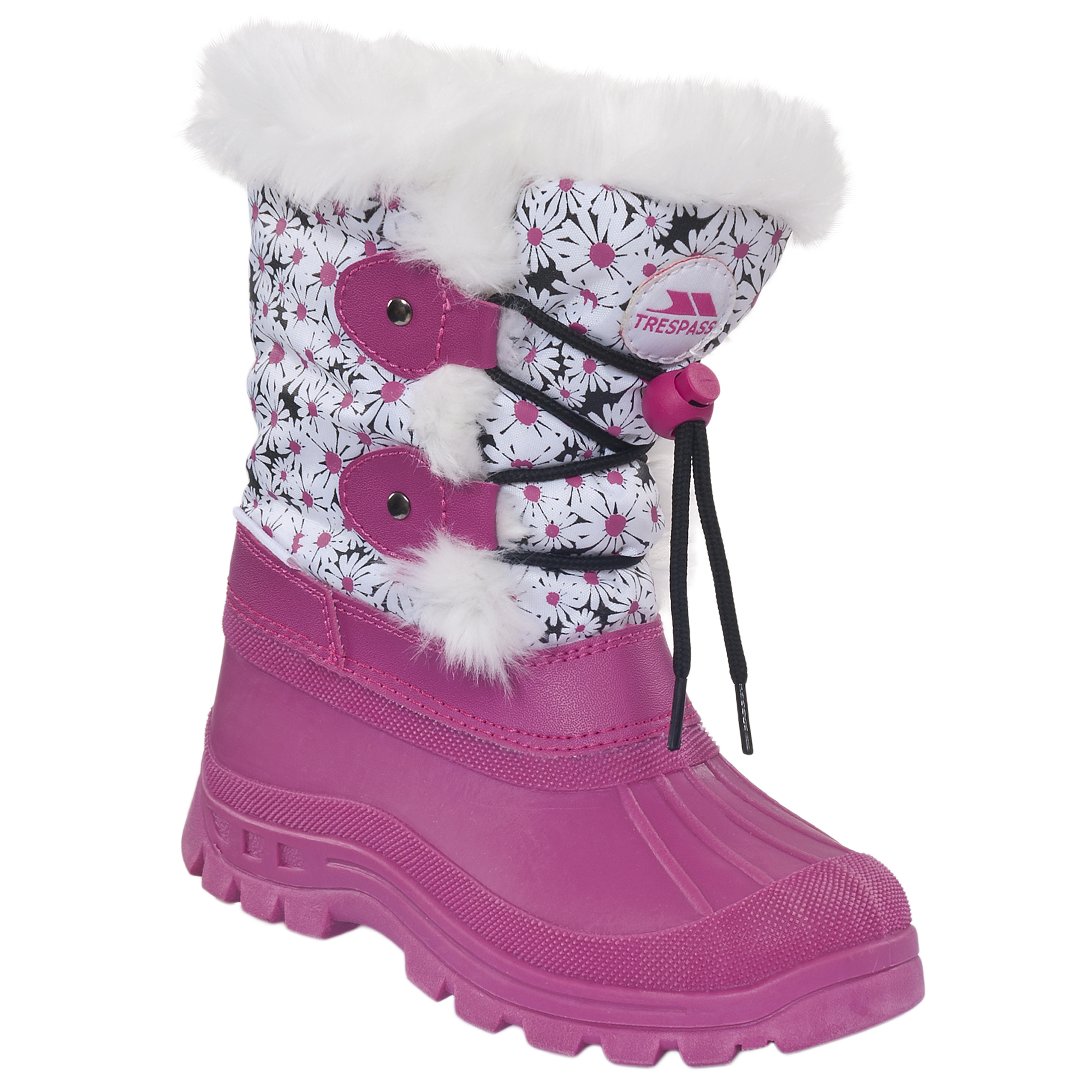 Trespass Snowdream Girls Kids Waterproof Winter Snow Boots | eBay