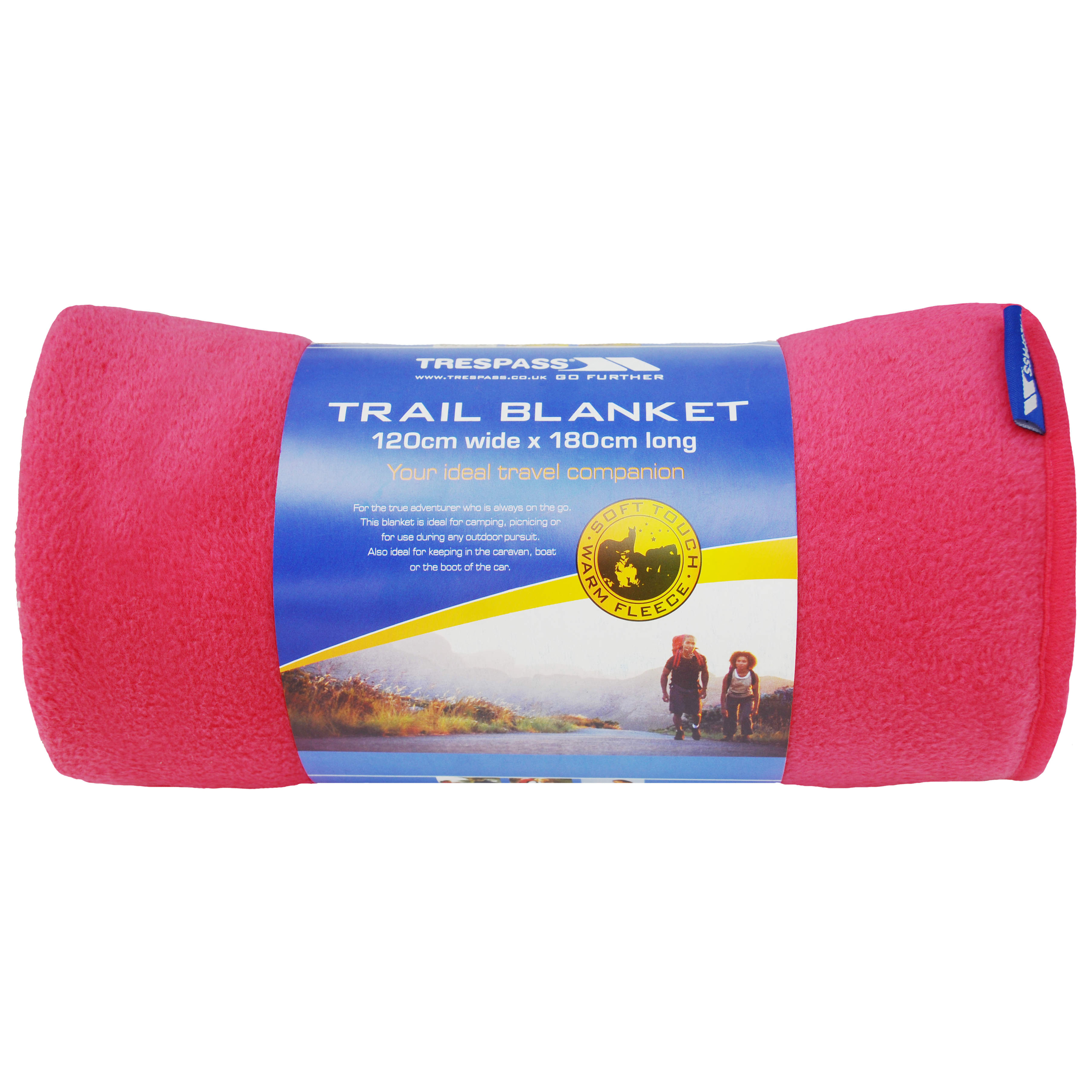 Trespass Snuggles Extra Large Microfleece Trail Blanket 120x180cm