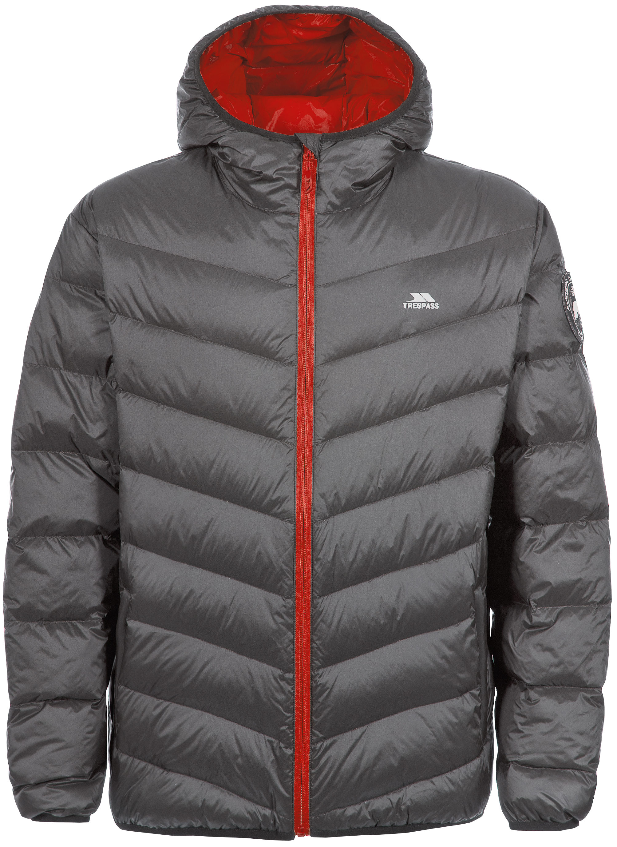 Trespass Stormer Men's Winter Coat With Hood Warm Padded Down ...
