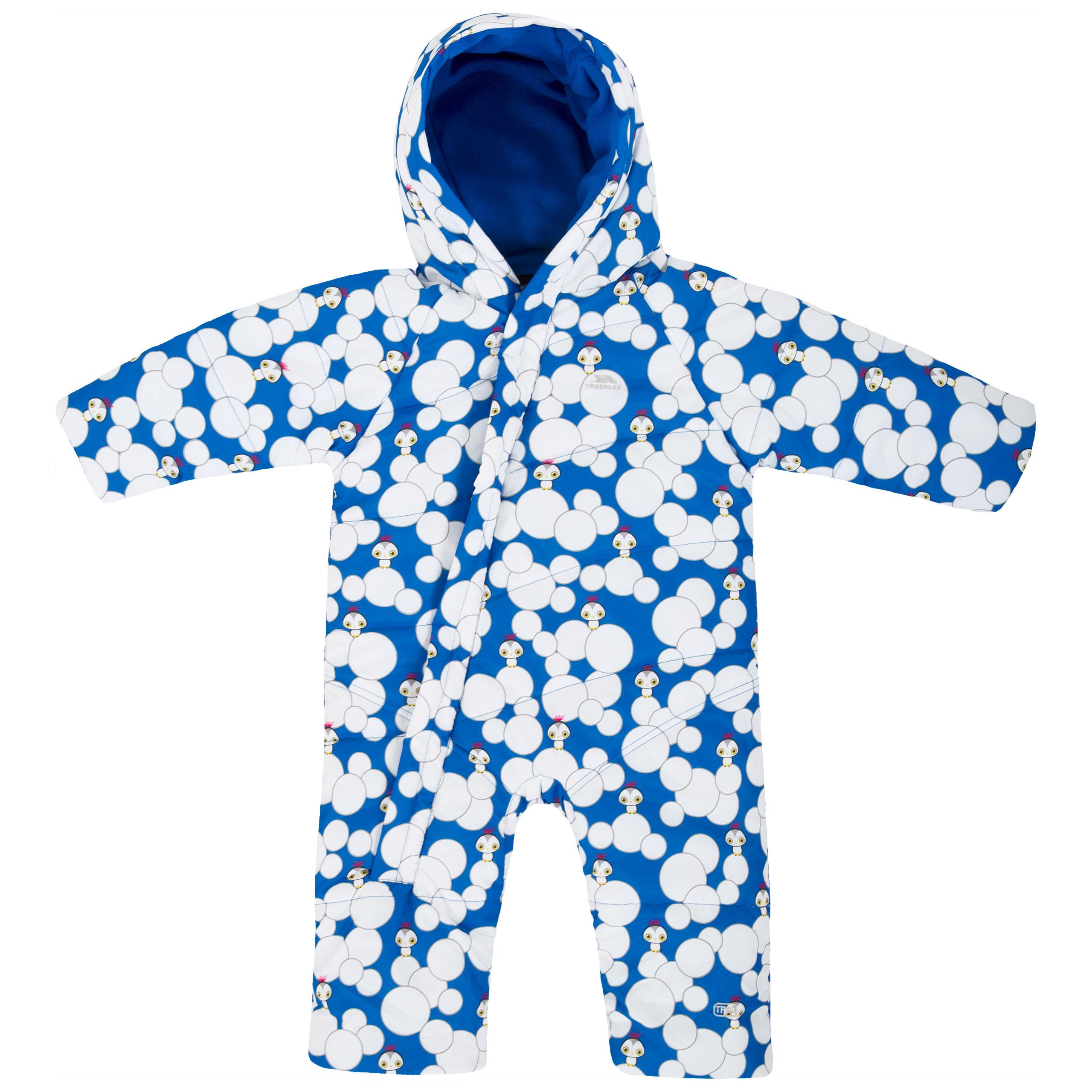b73342c0d Theodore Babies' Insulated Padded Snowsuit | Trespass UK