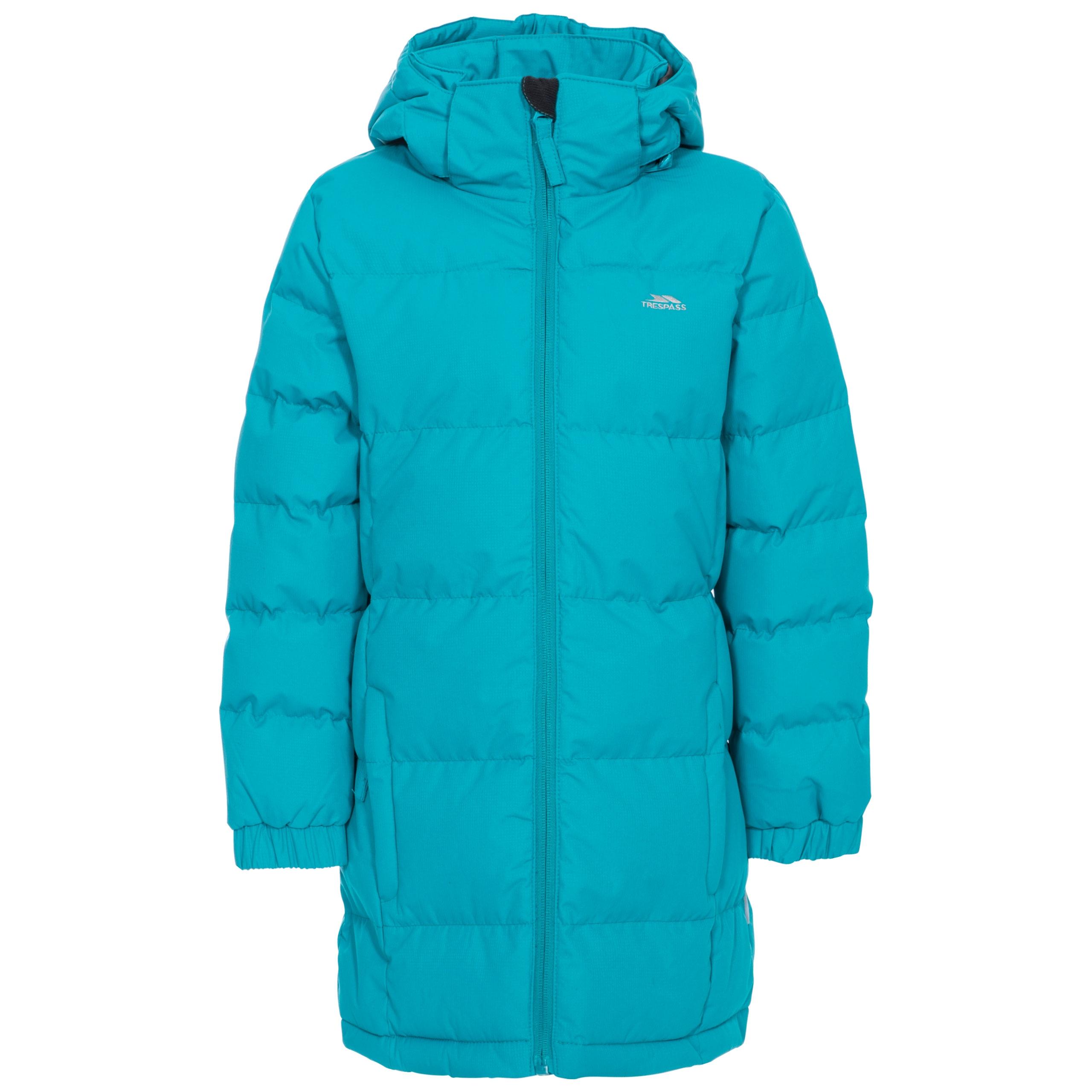 Trespass-Tiffy-Girls-Winter-Coat-Padded-Casual-Longer-Length-amp-Insulated-Jacket thumbnail 15