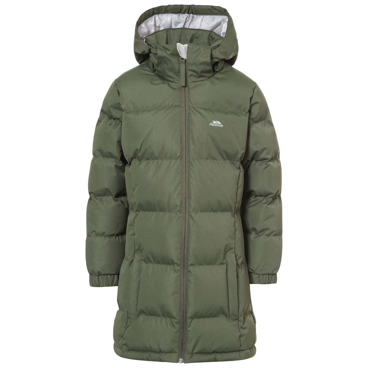 Trespass Tiffy Girls Padded Casual School Jacket Puffa Quilted ...