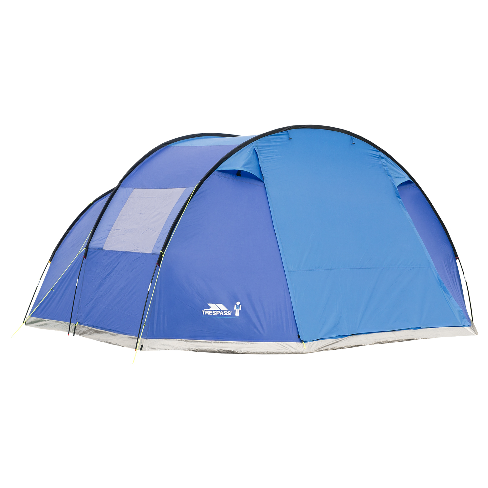 Trespass-Torrisdale-6-Man-Camping-Tent-2-Bedrooms-Free-Next-Day-Delivery thumbnail 7
