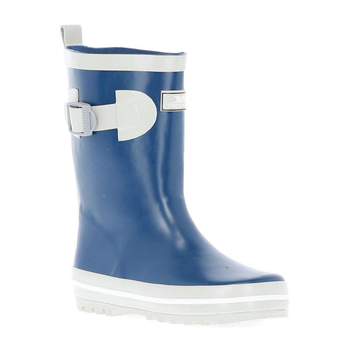 Trespass-Trumpet-Kids-Waterproof-Rain-Wellies-Boys-Girls-Rubber-Wellington-Boot thumbnail 17
