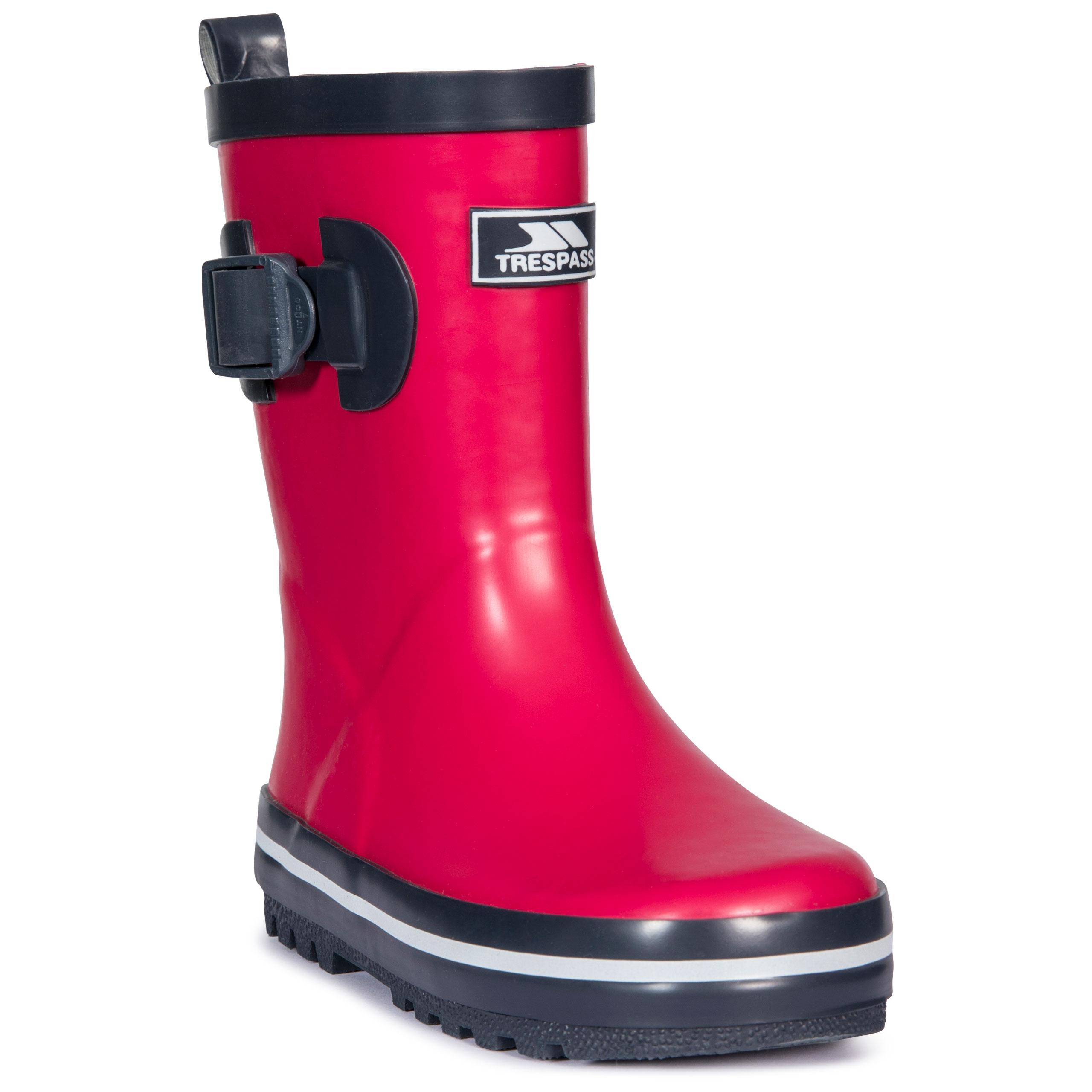 Trespass-Trumpet-Kids-Waterproof-Rain-Wellies-Boys-Girls-Rubber-Wellington-Boot thumbnail 21