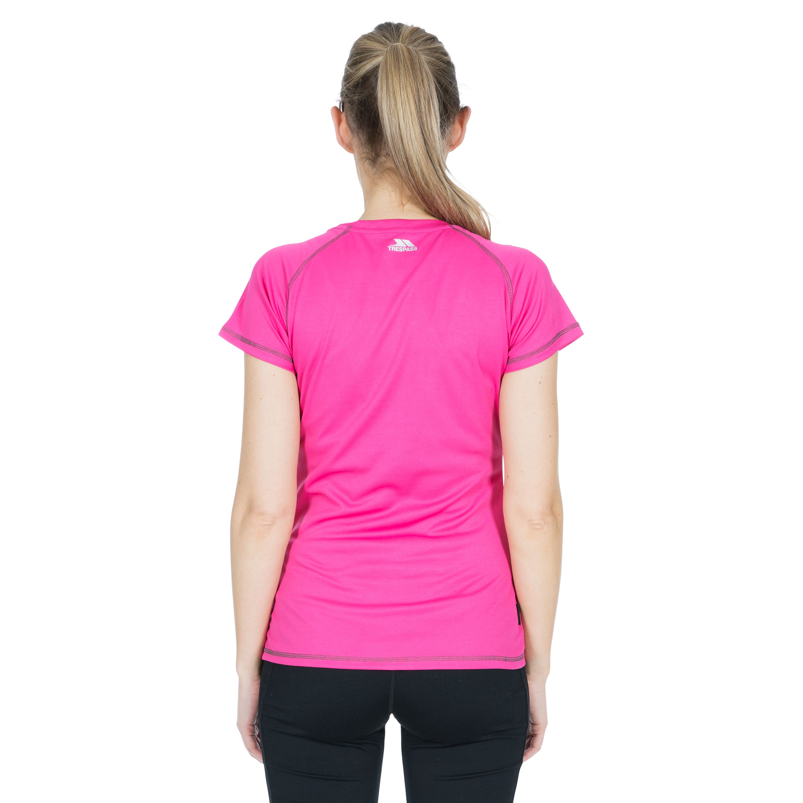 Trespass-Viktoria-Womens-Short-Sleeved-Active-T-Shirt-Gym-Top-For-Ladies thumbnail 20