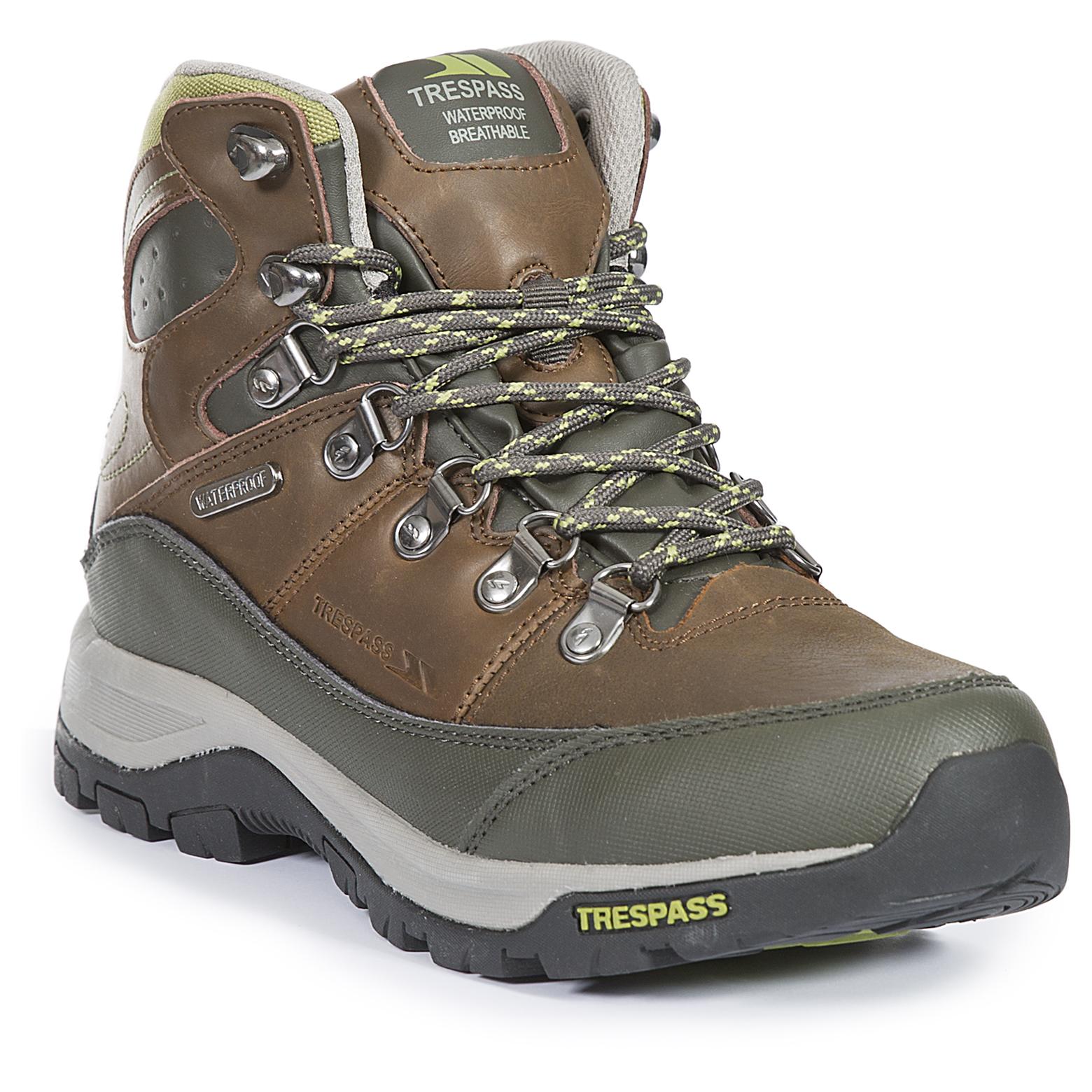 trespass tarn womens hiking boots waterproof leather