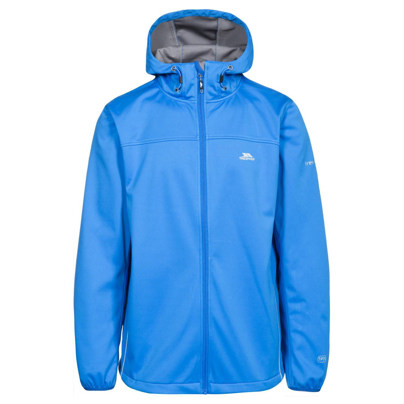 Trespass-Zeek-Para-Hombre-Impermeable-Transpirable-Abrigo-chaqueta-de-cascara-suave-con-capucha miniatura 14