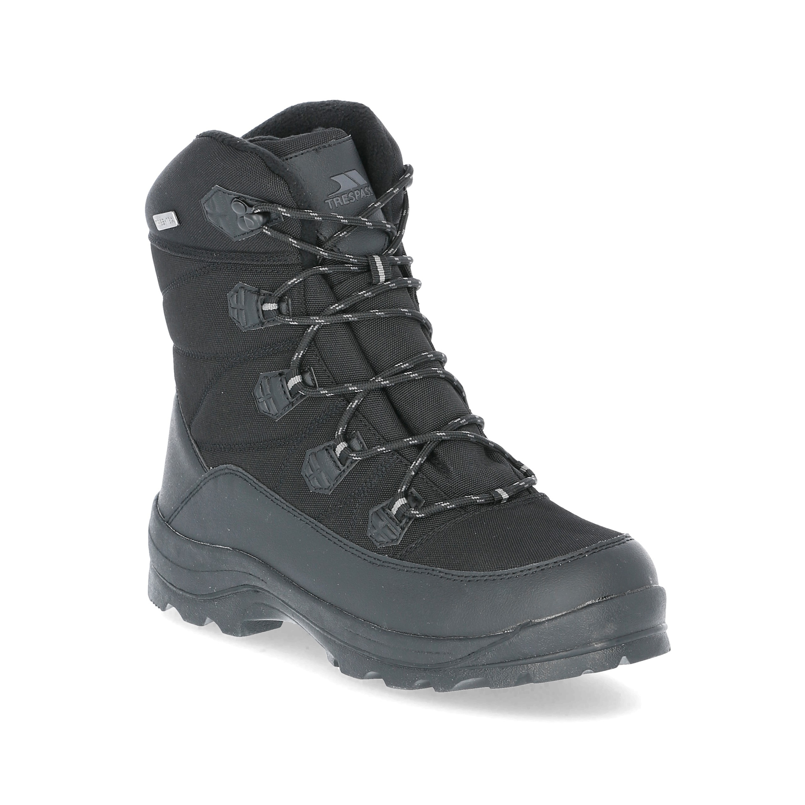 in Trespass Zotos Snow traspirante Blk Boots Waterproof Black da uomo P0qxPFrw