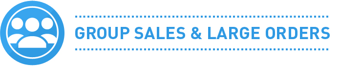 Group Sales and Large Orders