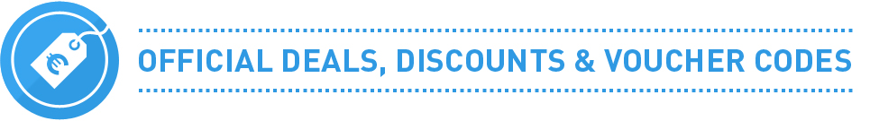Official Deals Discounts and Voucher Codes