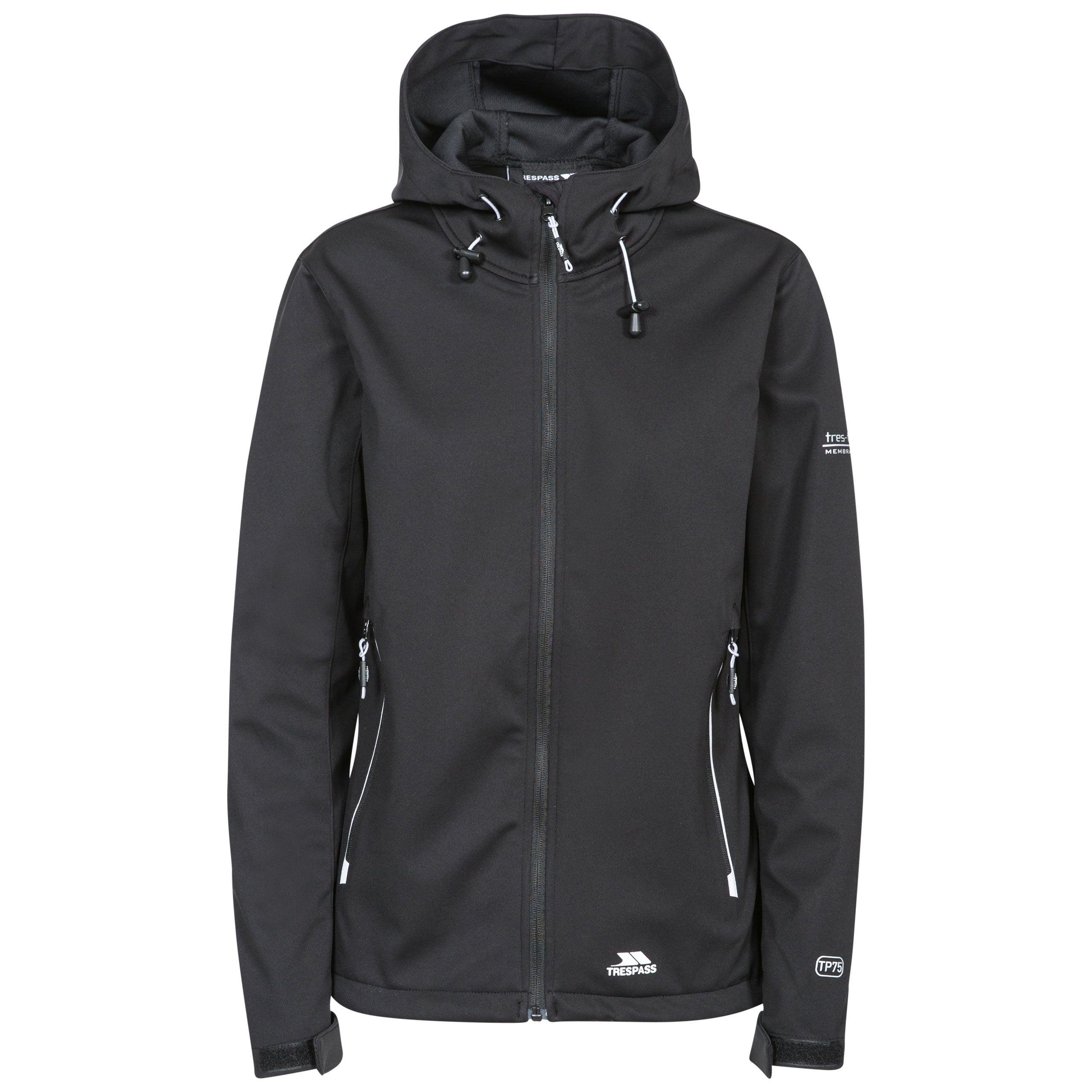 Marsa Womens Breathable Hooded Softshell Jacket