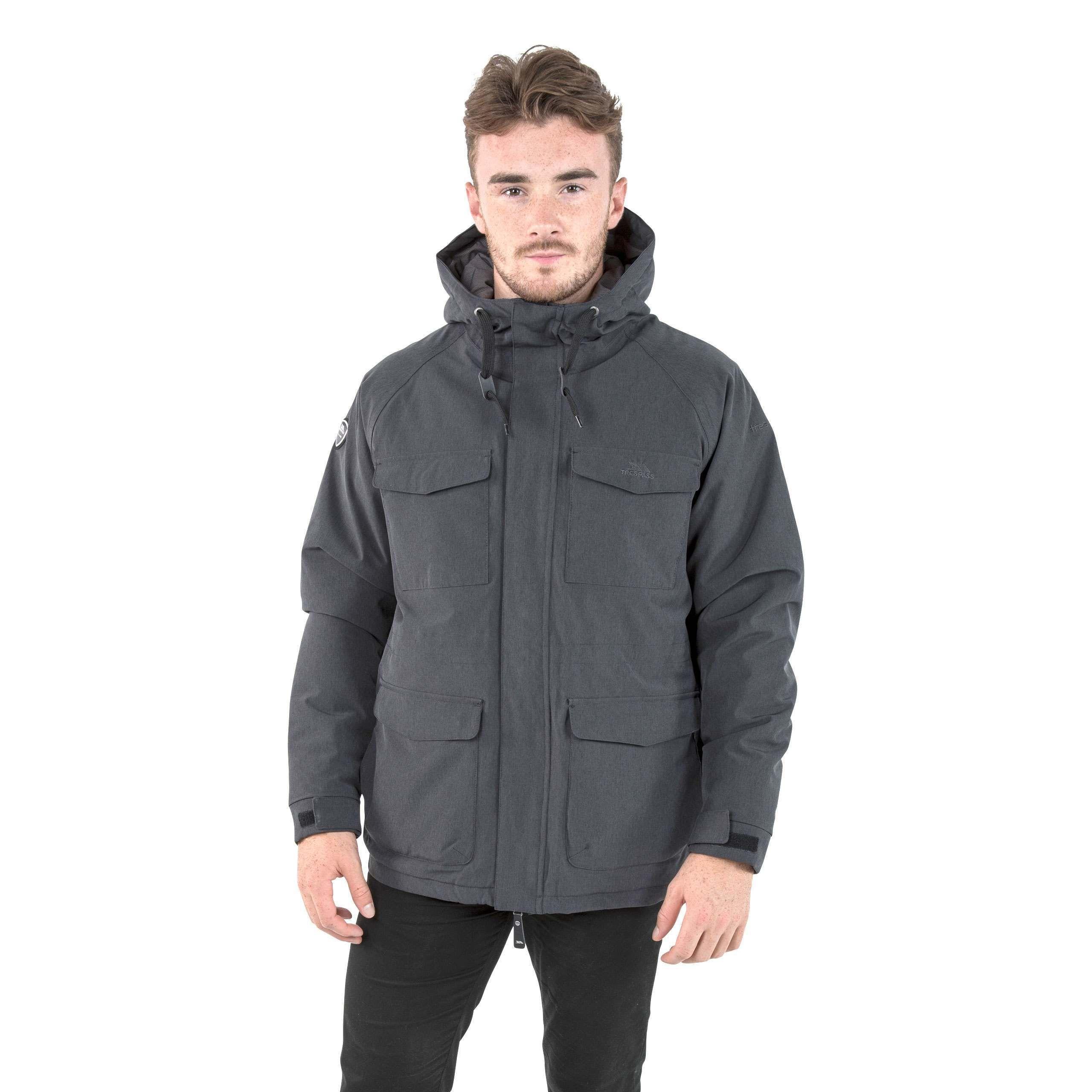 Saunter Mens Padded Fleece Jacket